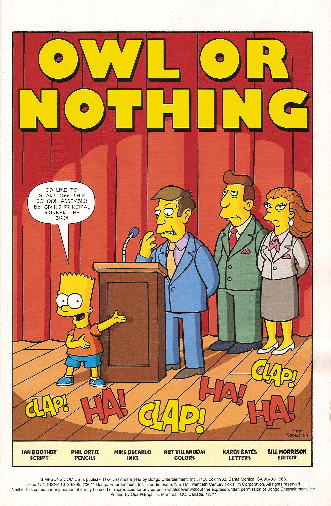 Read online Simpsons Comics comic -  Issue #174 - 3