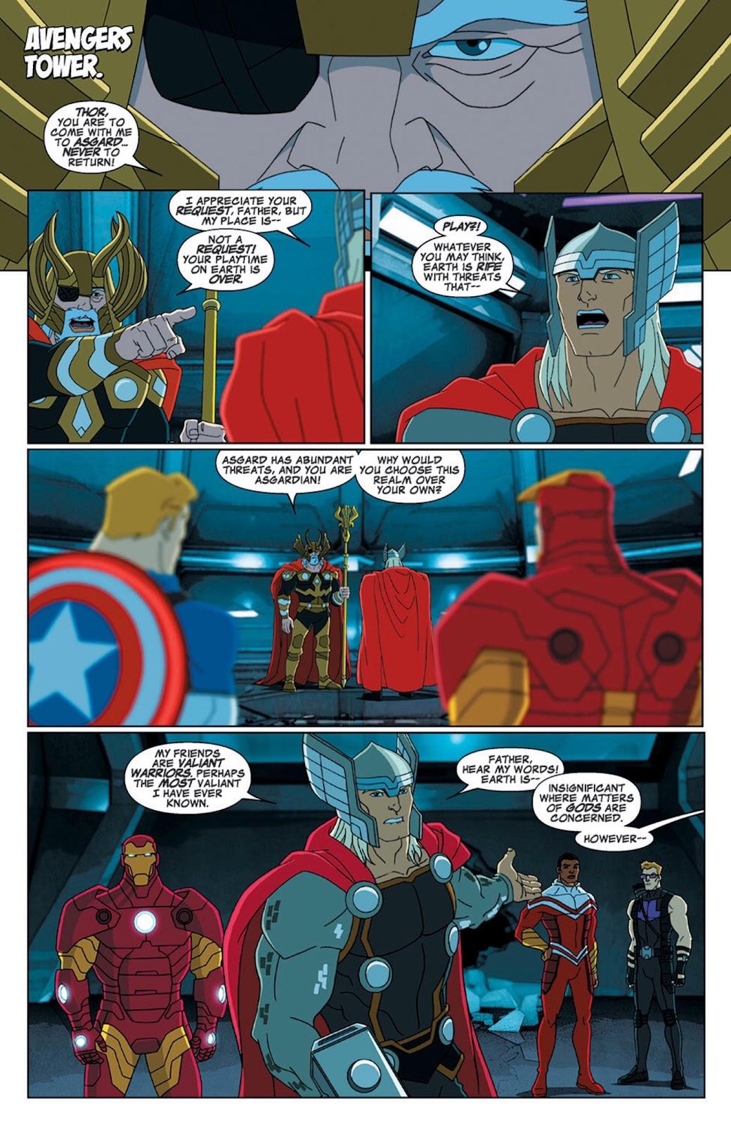 Read online Marvel Universe Avengers Assemble Season 2 comic -  Issue #7 - 4