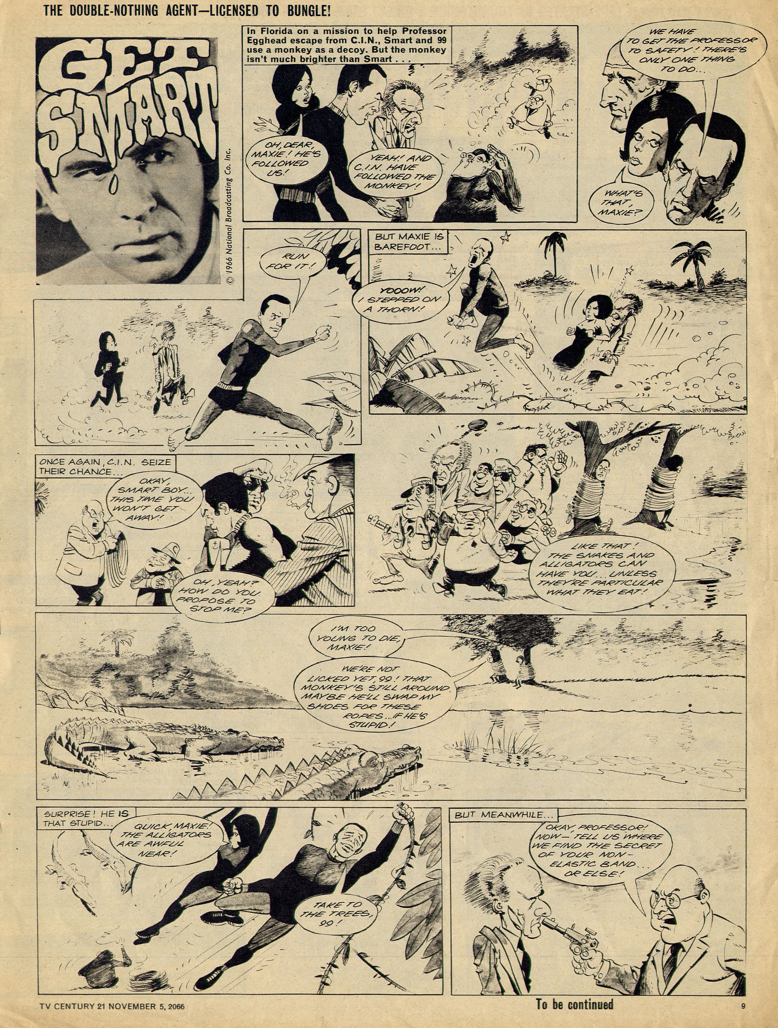 Read online TV Century 21 (TV 21) comic -  Issue #94 - 9