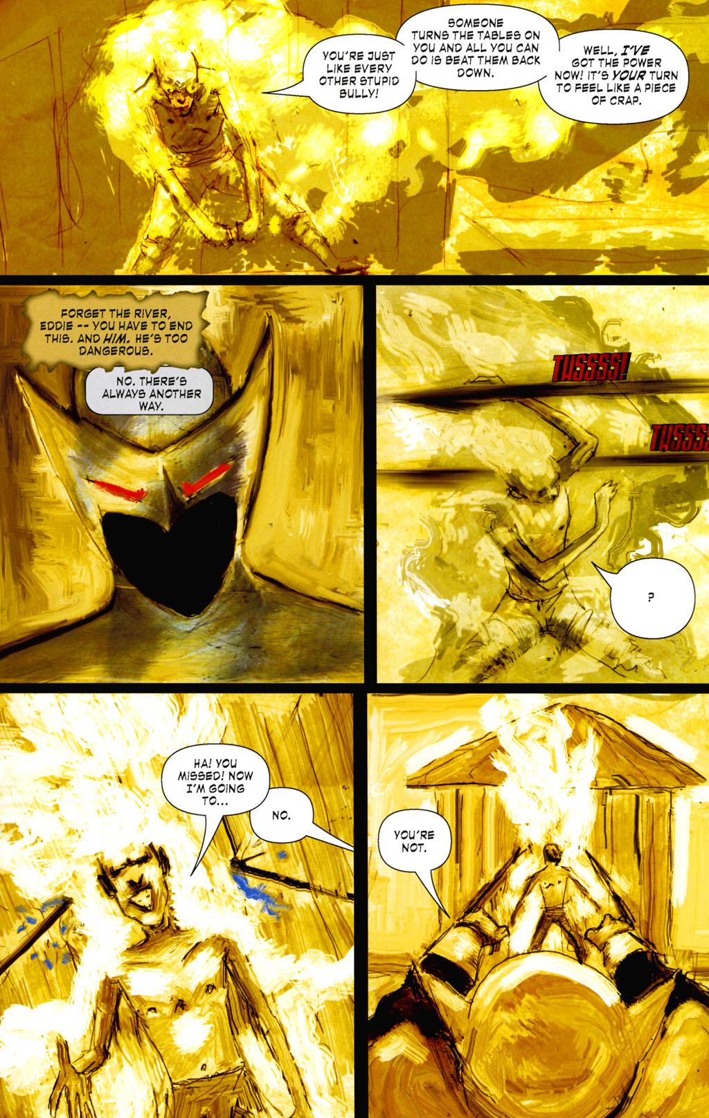 Read online ShadowHawk (2005) comic -  Issue #8 - 19