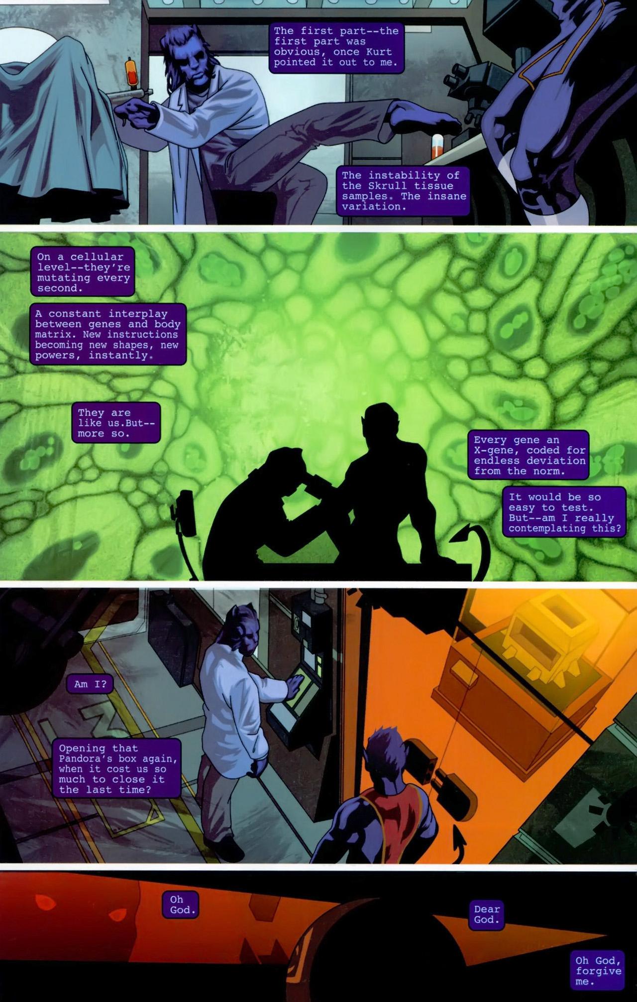 Read online Secret Invasion: X-Men comic -  Issue #3 - 20