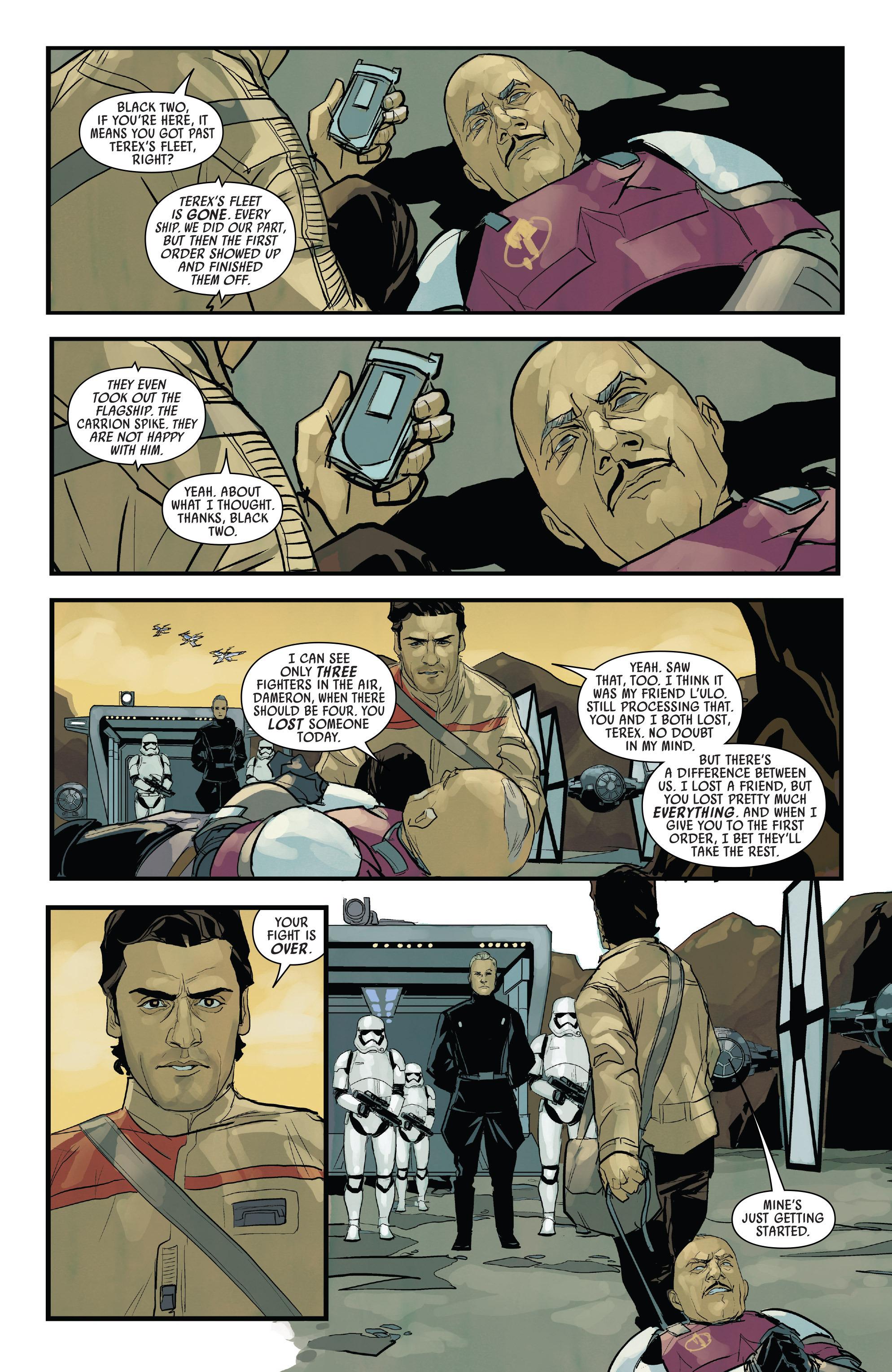 Read online Star Wars: Poe Dameron comic -  Issue #13 - 22