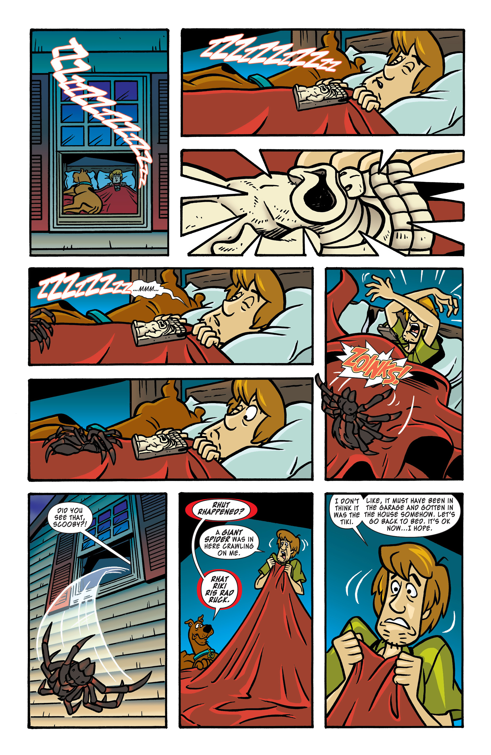 Read online Scooby-Doo: Where Are You? comic -  Issue #48 - 5