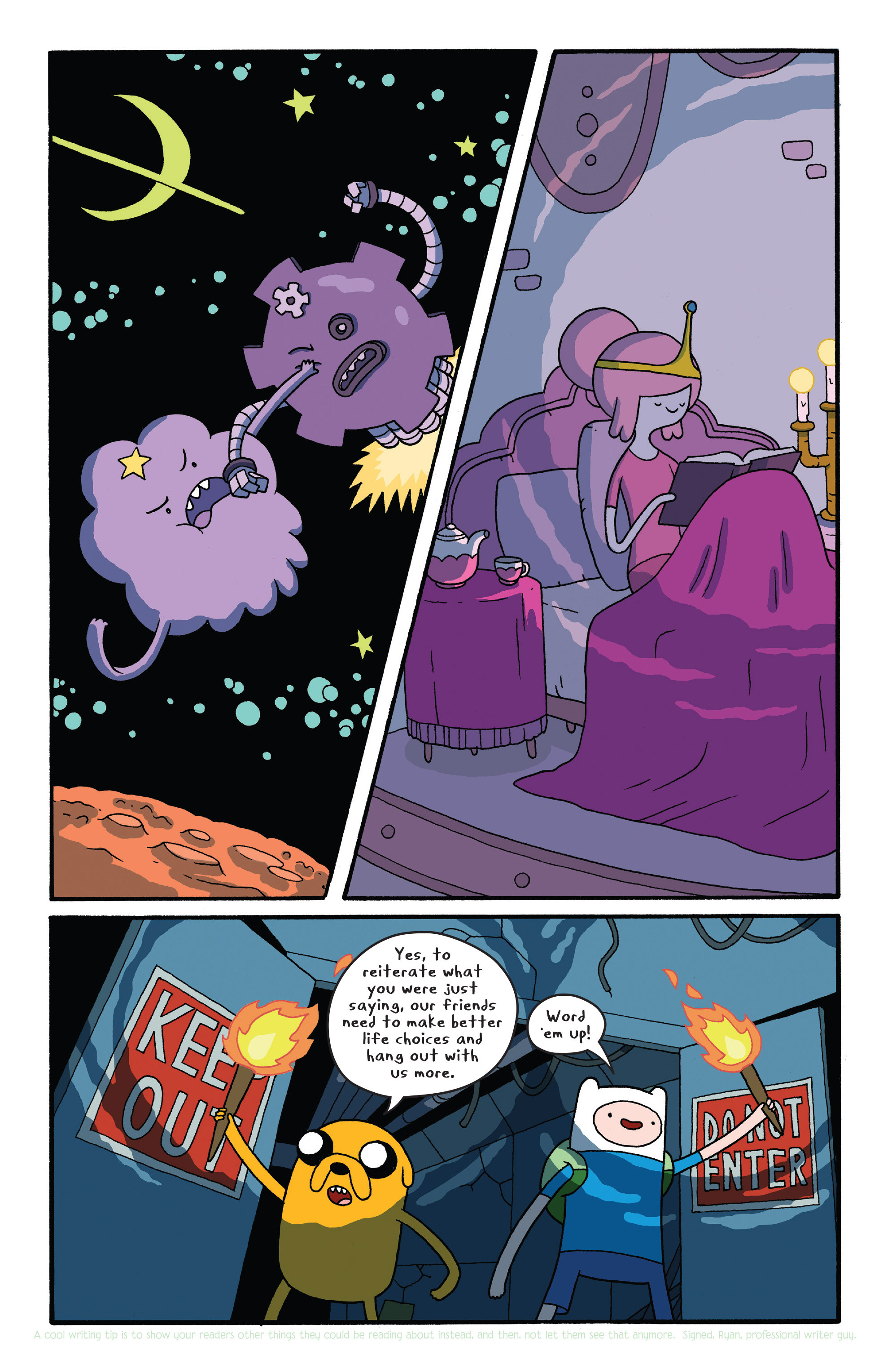 Read online Adventure Time comic -  Issue #26 - 9