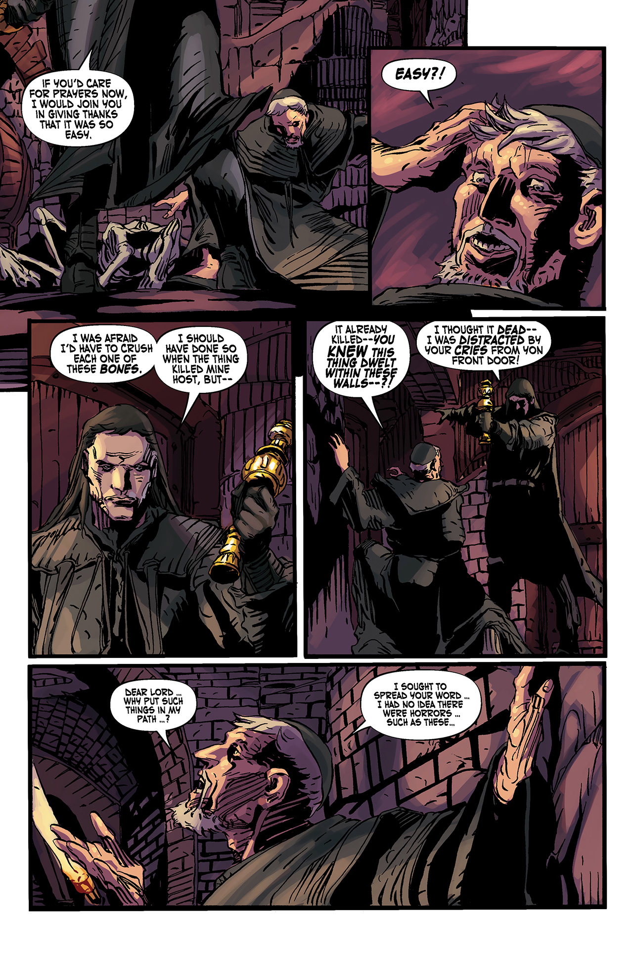 Read online Solomon Kane: Death's Black Riders comic -  Issue #3 - 15