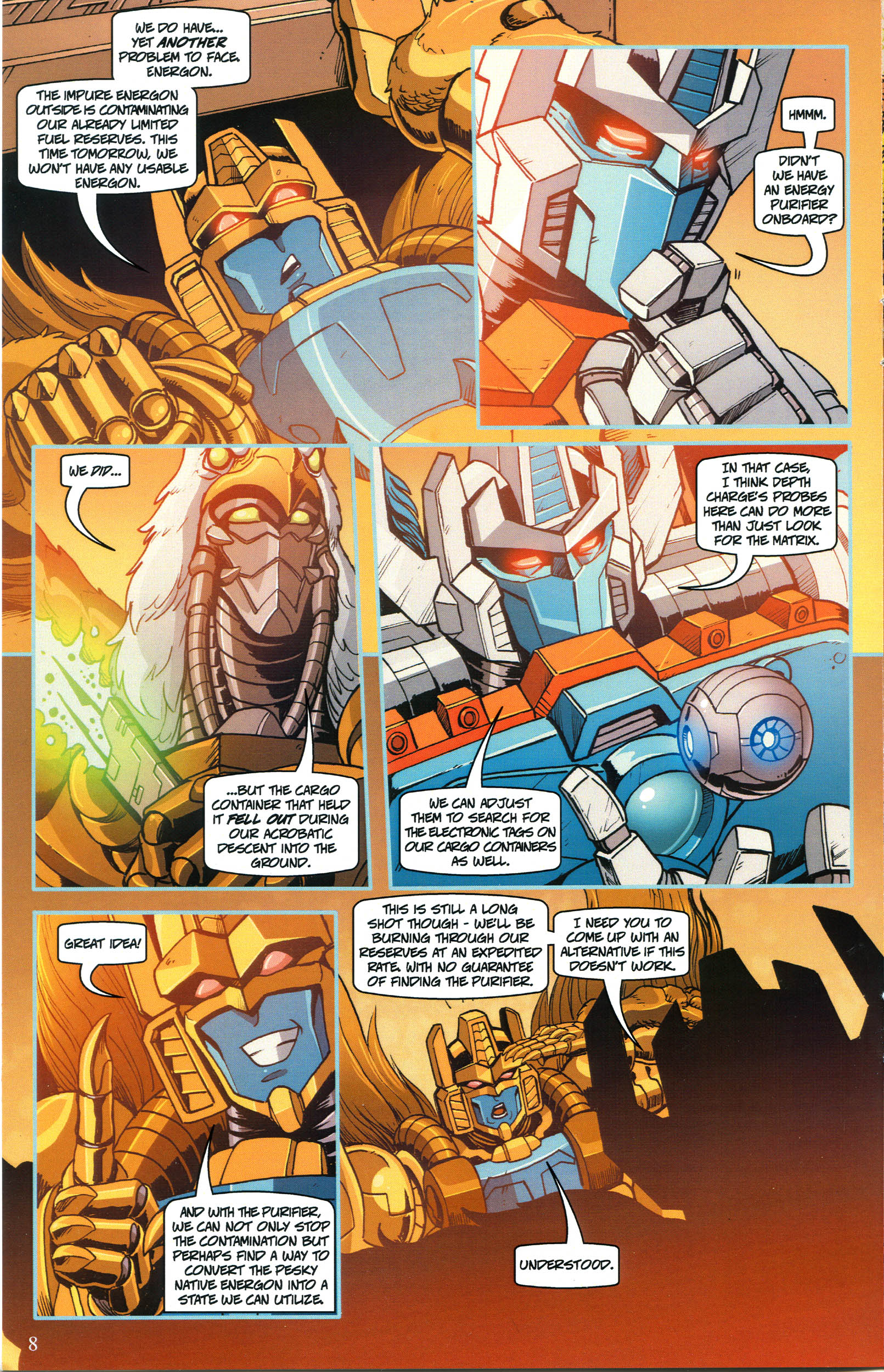 Read online Transformers: Collectors' Club comic -  Issue #52 - 8