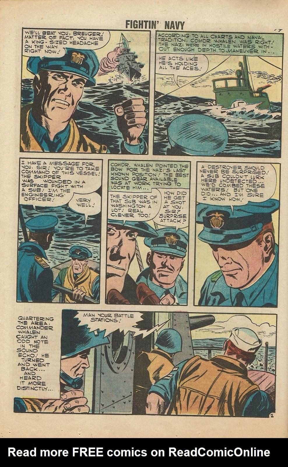 Read online Fightin' Navy comic -  Issue #81 - 16
