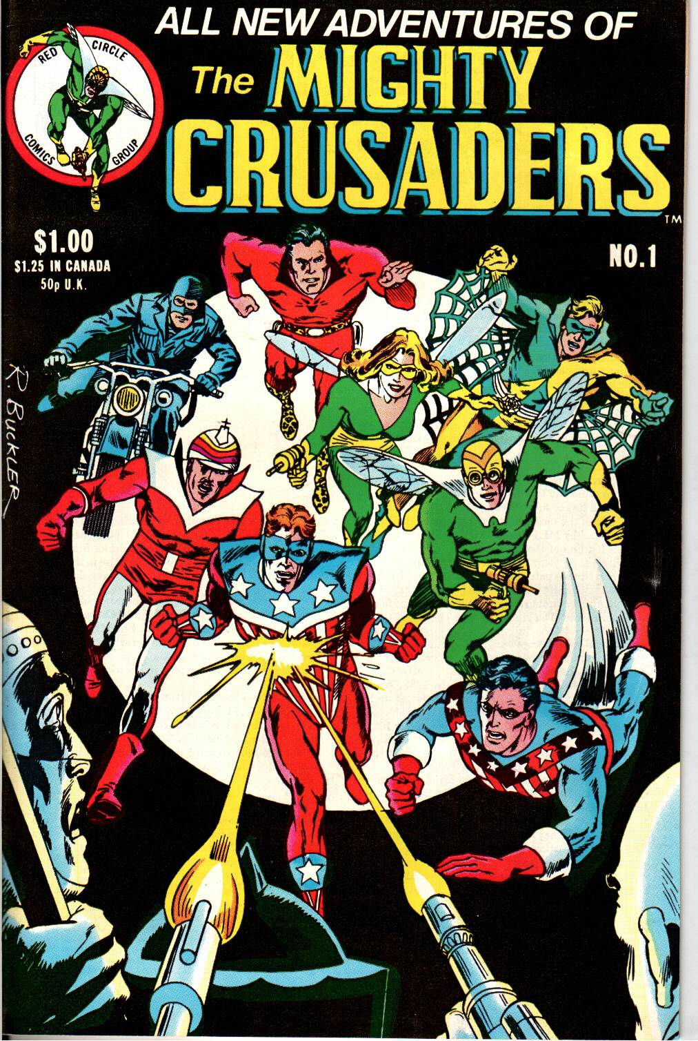 The All New Adventures of the Mighty Crusaders issue 1 - Page 1