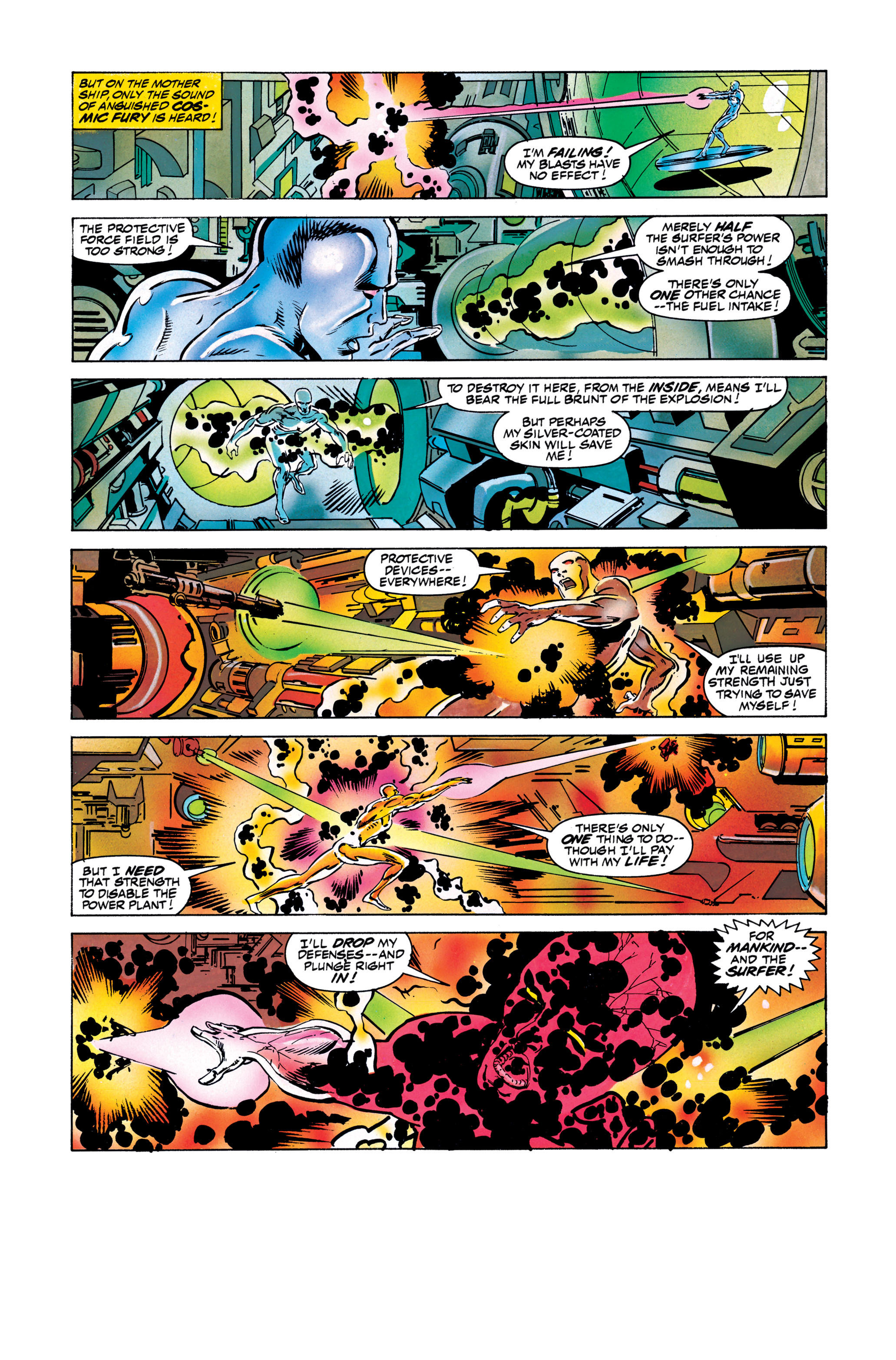 Read online Silver Surfer: Parable comic -  Issue # TPB - 120