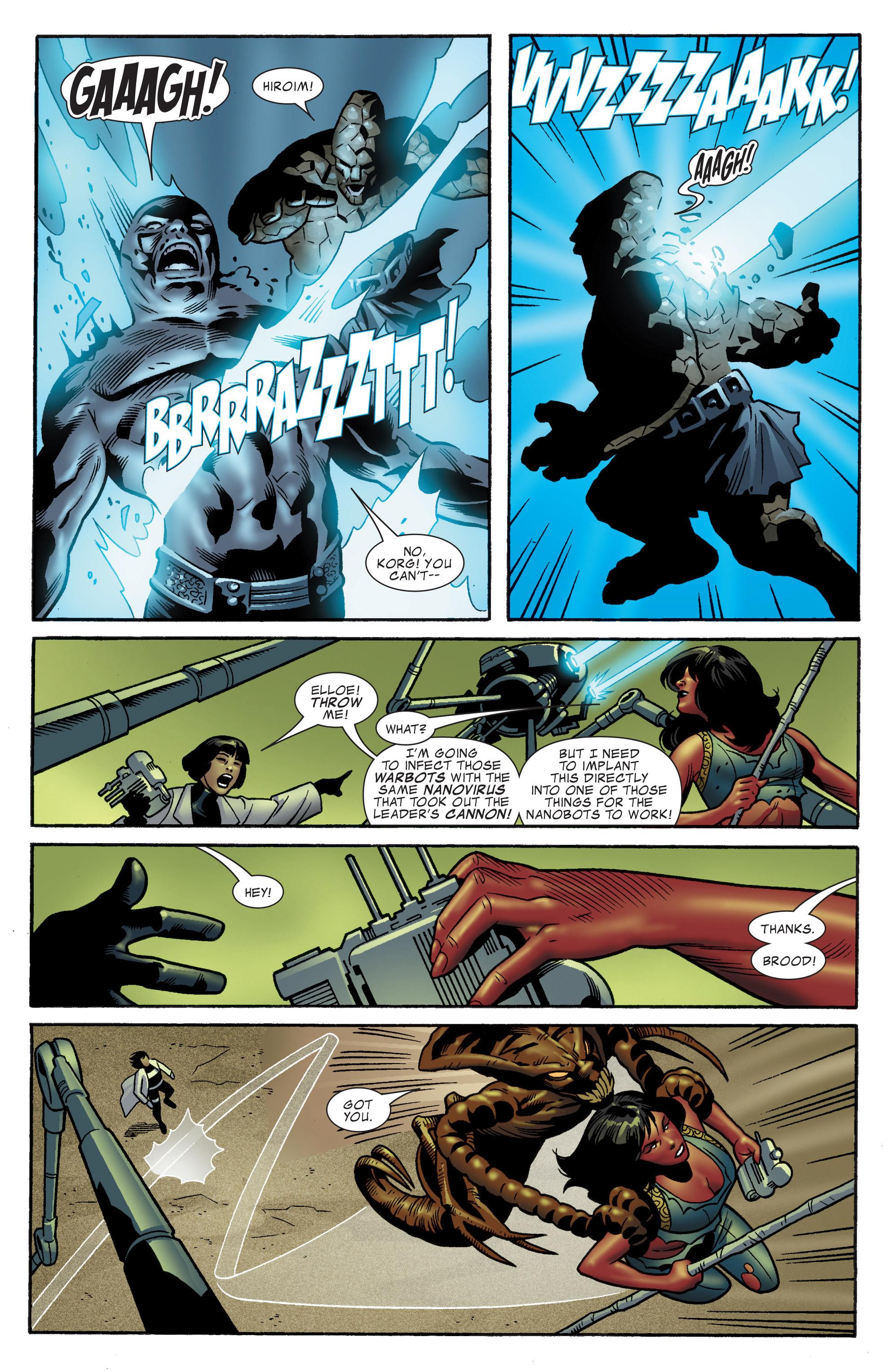 Read online World War Hulk Aftersmash: Warbound, Vol. 1 comic -  Issue #5 - 8