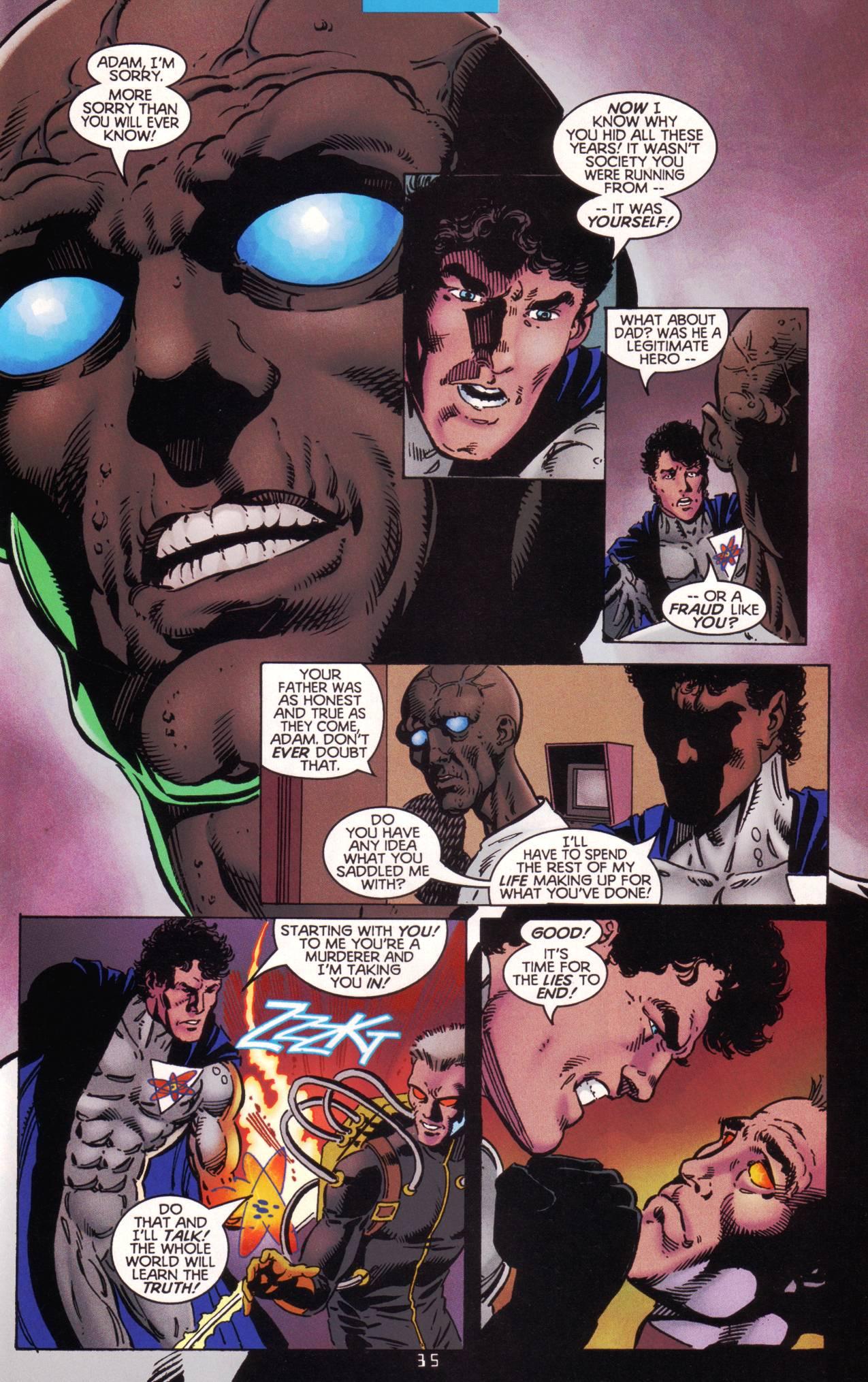 Read online Tangent Comics/ The Atom comic -  Issue # Full - 36