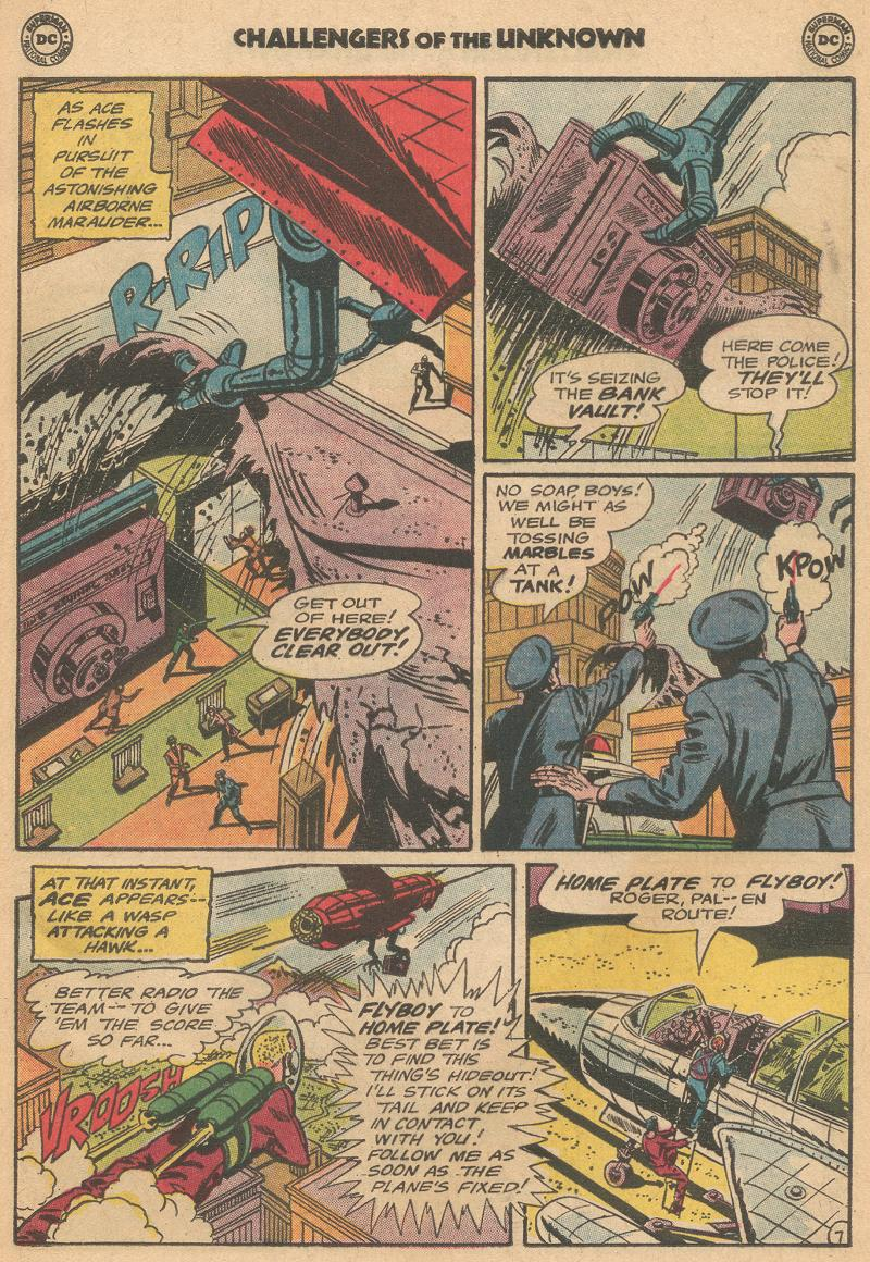 Challengers of the Unknown (1958) issue 40 - Page 9
