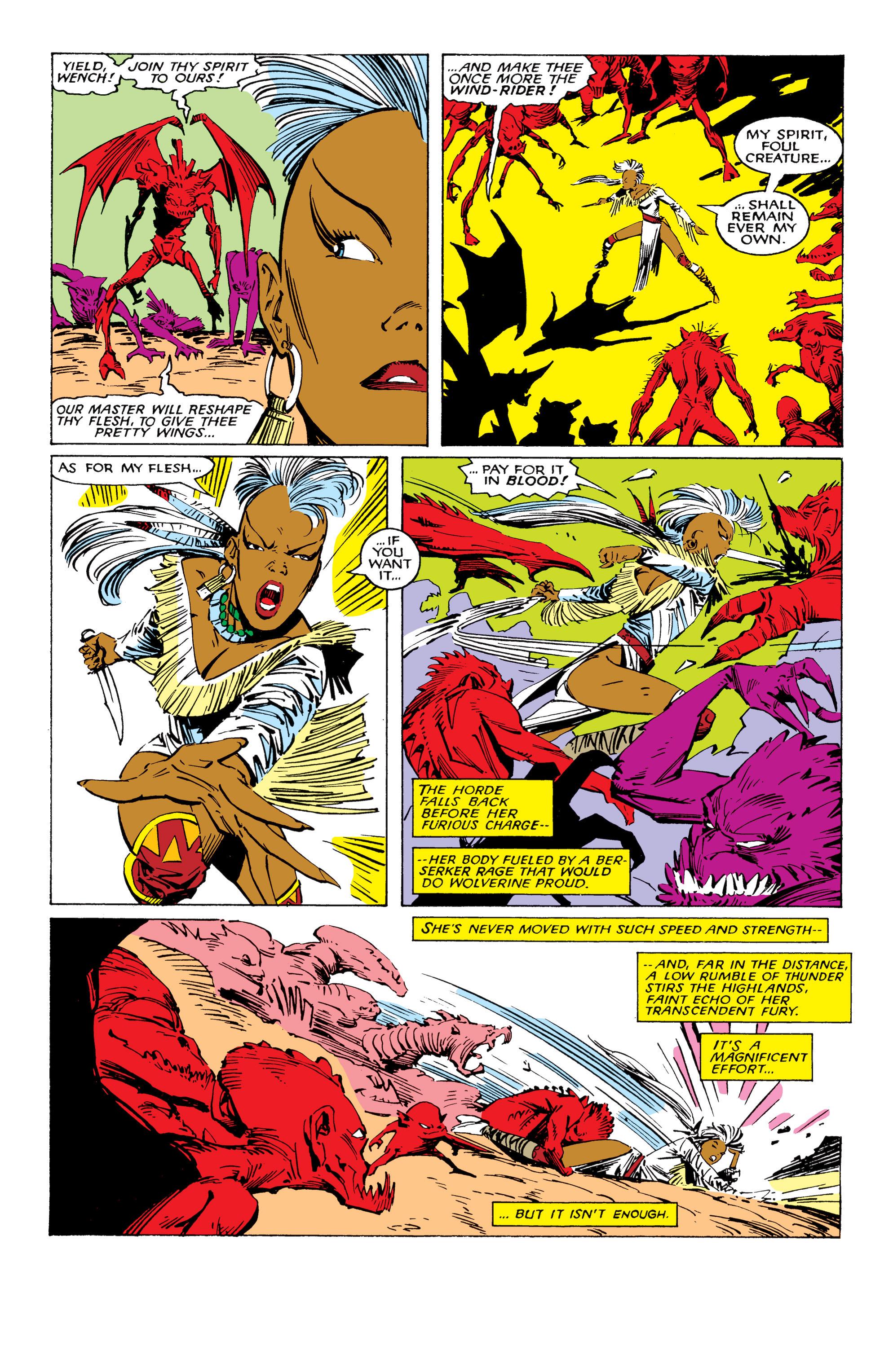 Read online Uncanny X-Men (1963) comic -  Issue #224 - 20