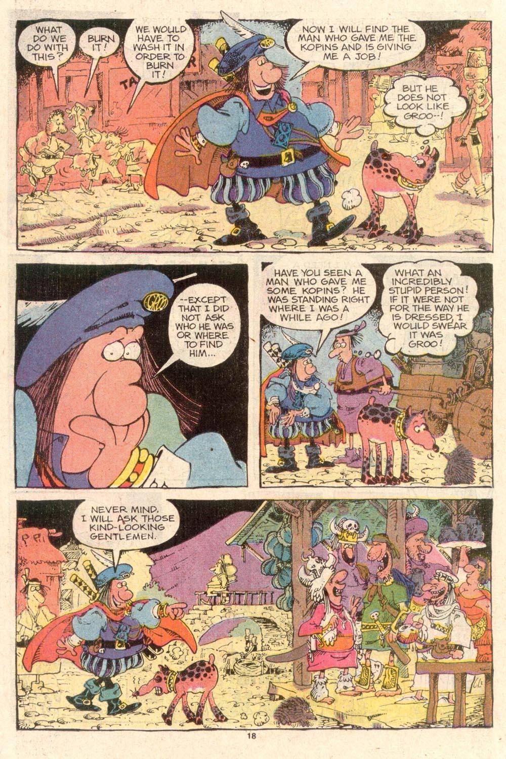 Read online Sergio Aragonés Groo the Wanderer comic -  Issue #46 - 18