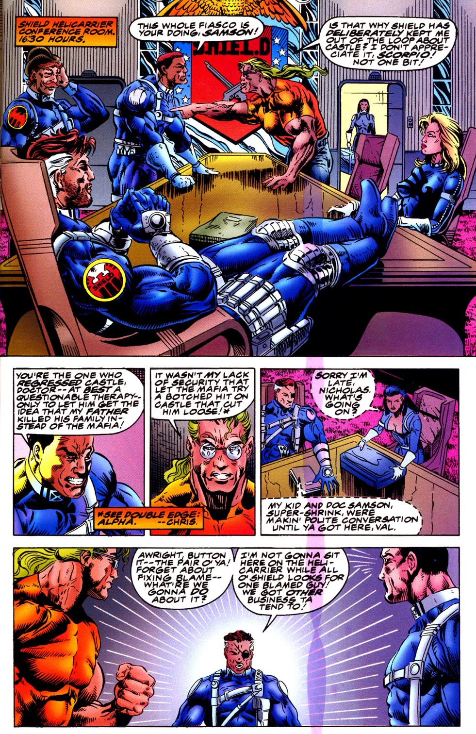 Read online Double Edge comic -  Issue # Issue Omega - 10