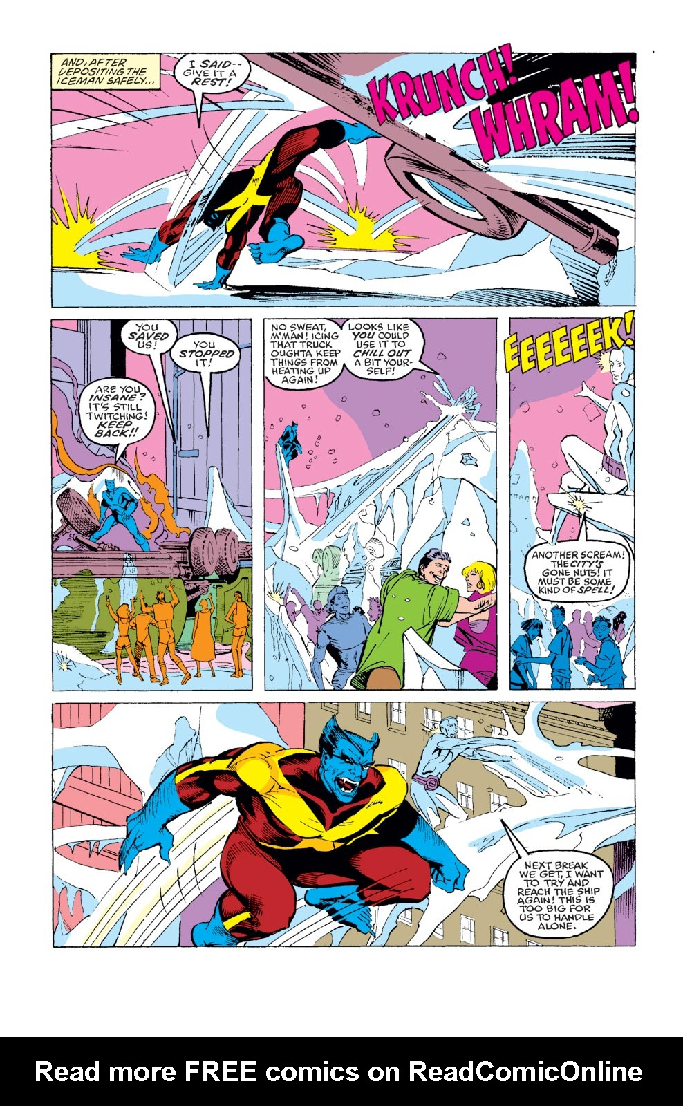 Read online X-Factor (1986) comic -  Issue #35 - 4