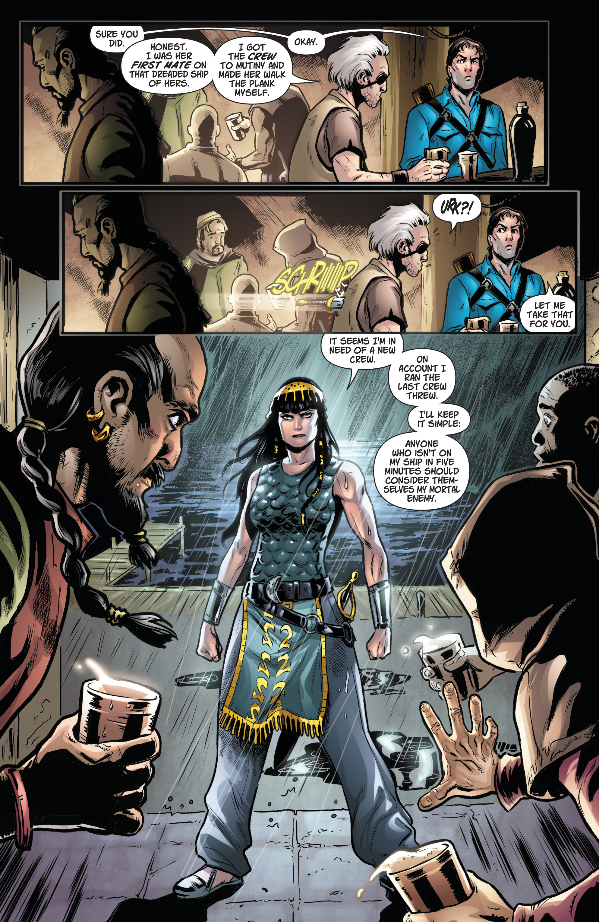 Read online Army Of Darkness/Xena: Forever…And A Day comic -  Issue #3 - 11