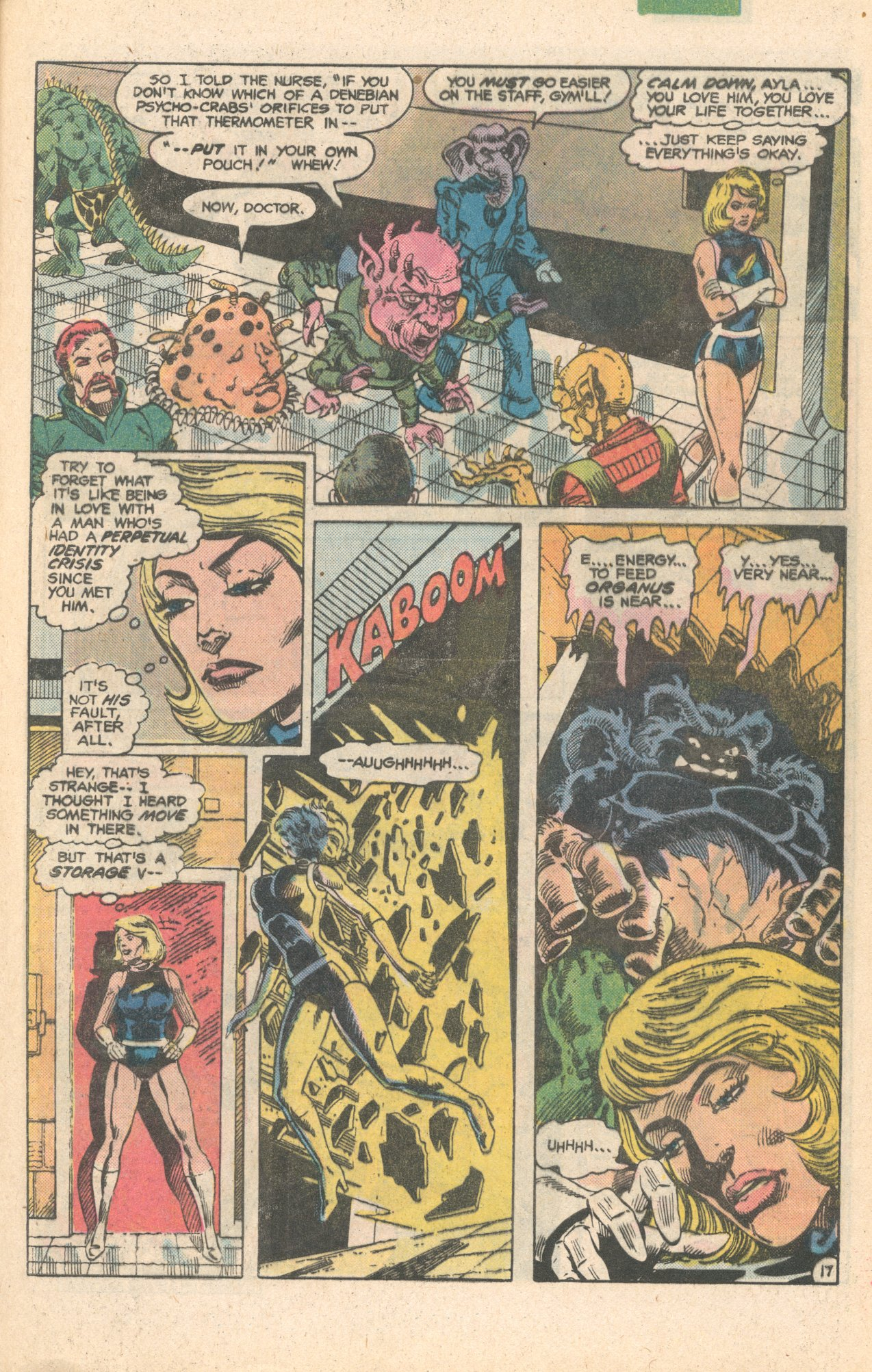 Legion of Super-Heroes (1980) 284 Page 17