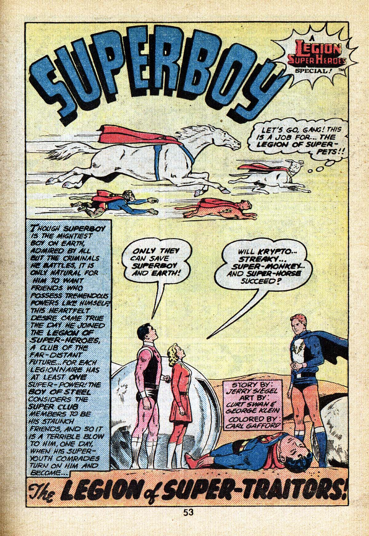 Read online Adventure Comics (1938) comic -  Issue #495 - 53