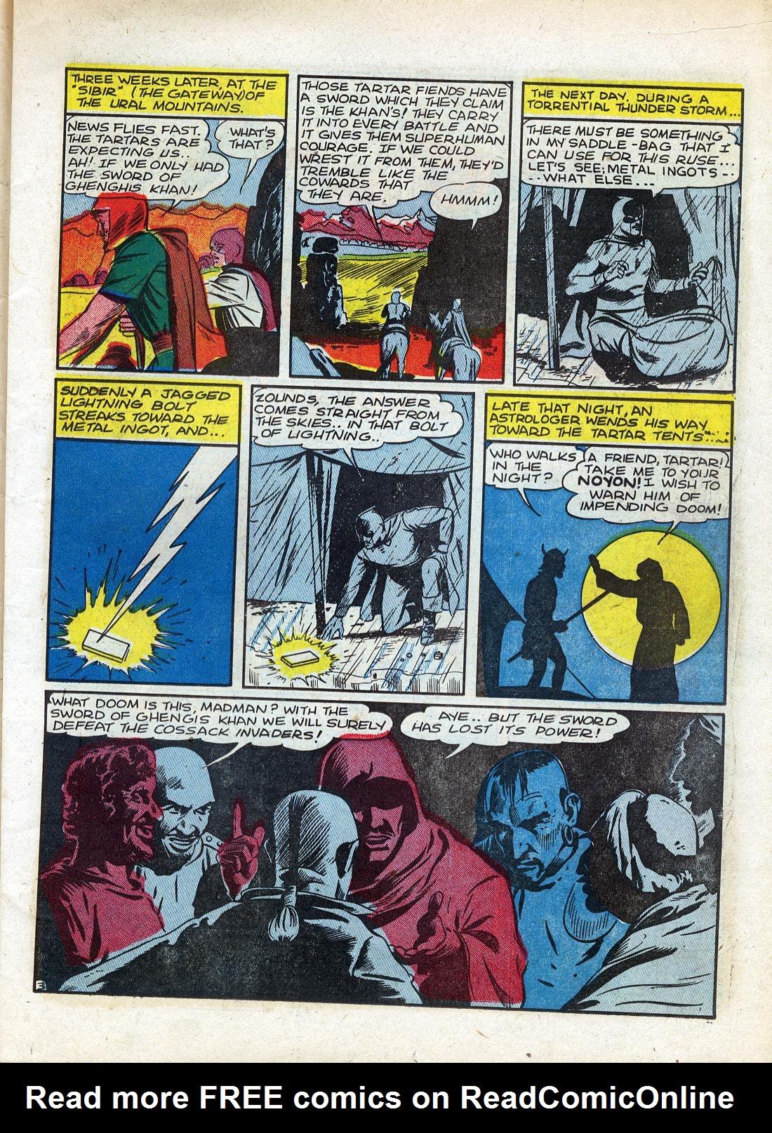 Read online Sensation (Mystery) Comics comic -  Issue #26 - 19