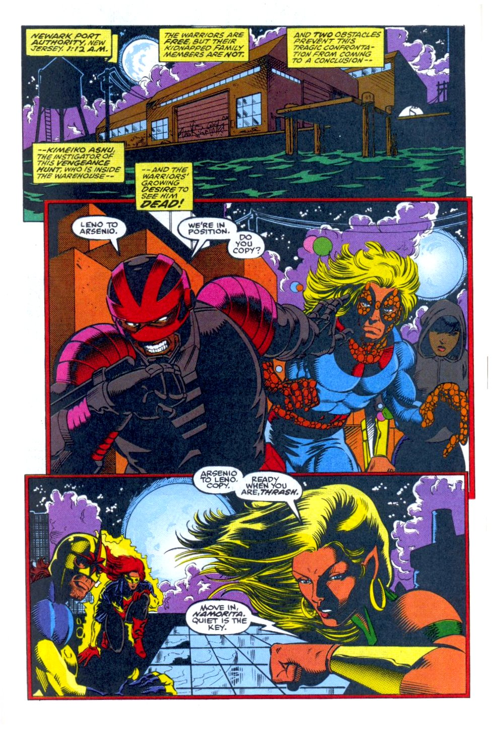 The New Warriors Issue #38 #42 - English 7
