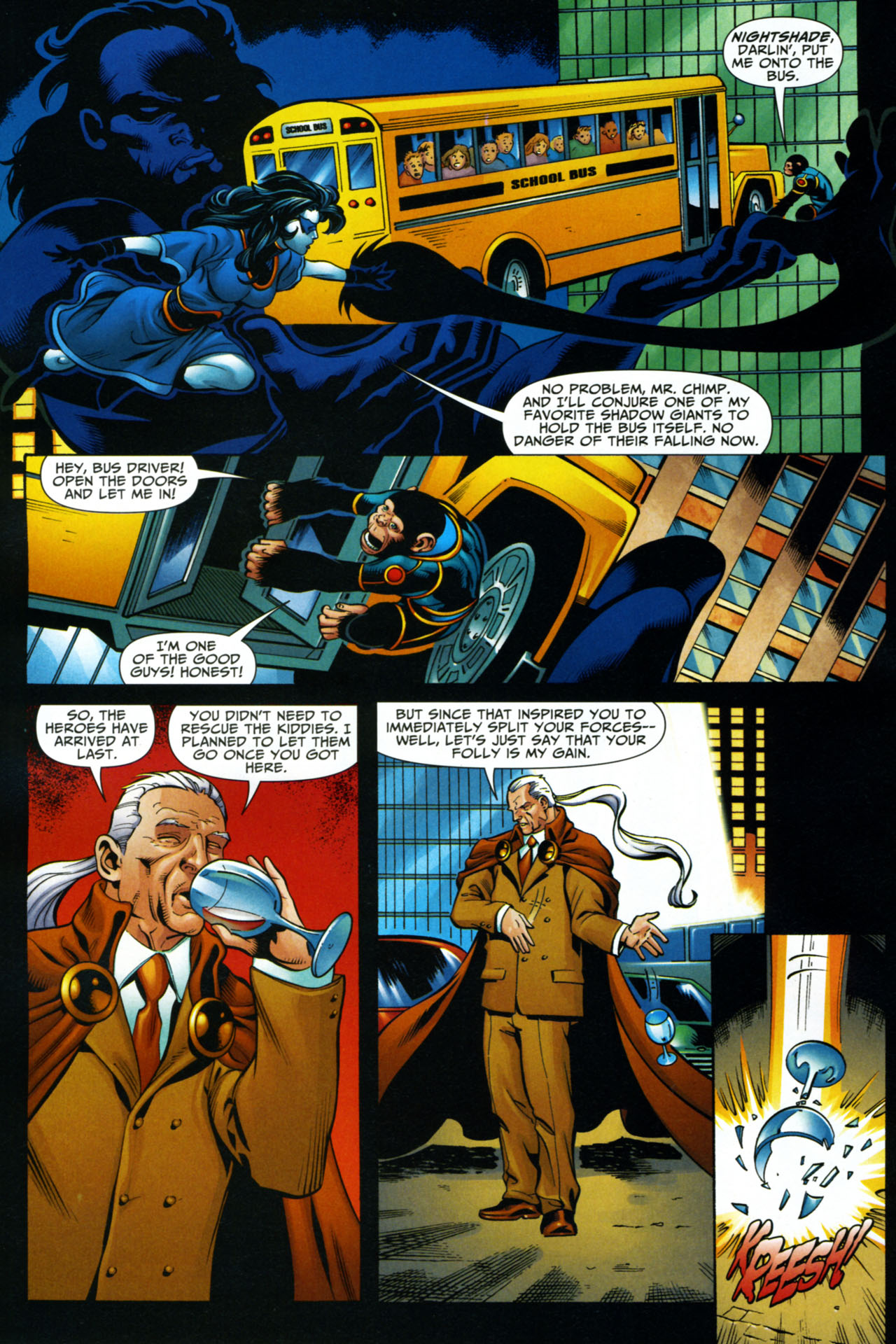 Read online Shadowpact comic -  Issue #15 - 14