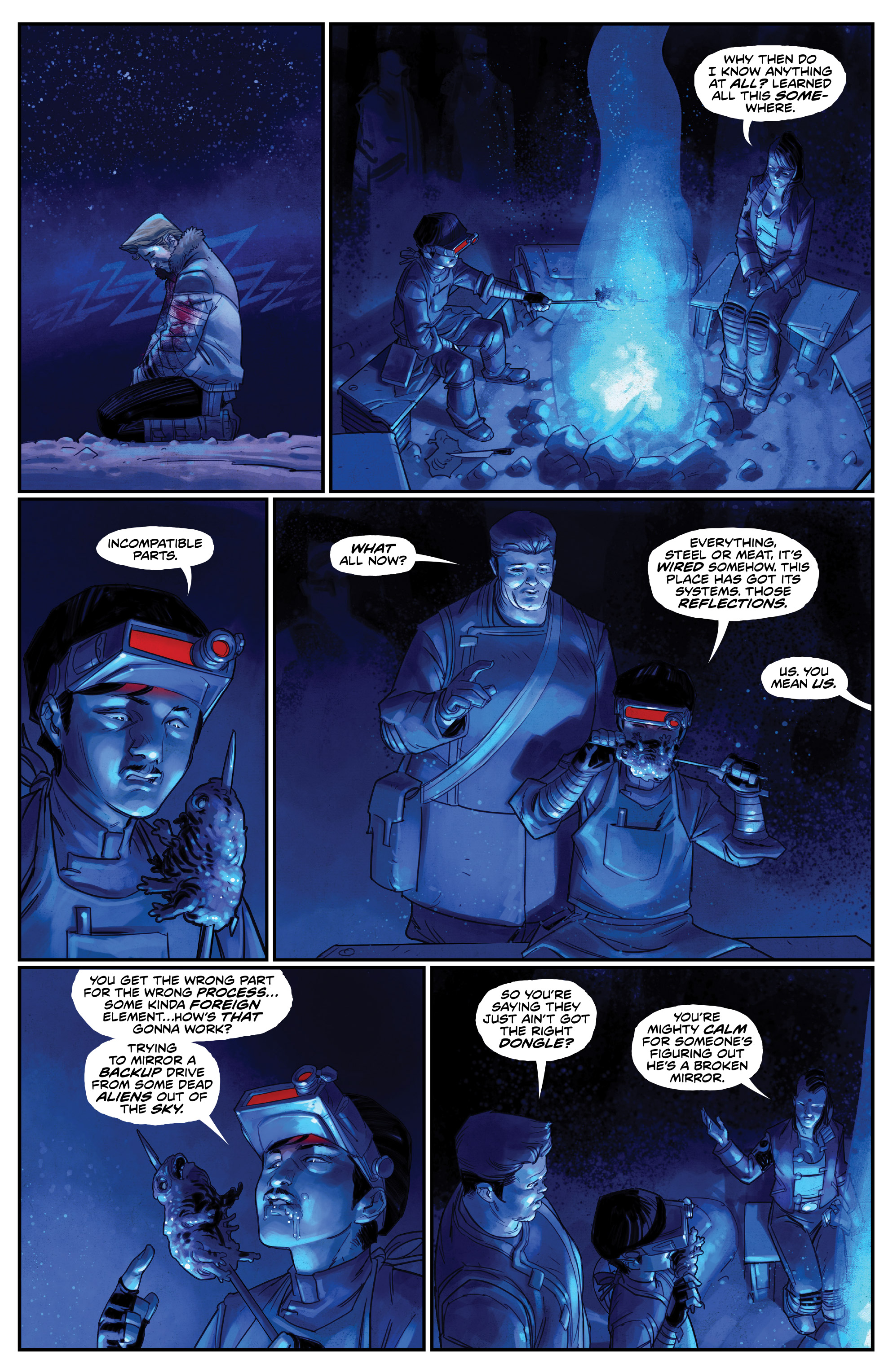 Read online Drifter (2014) comic -  Issue #19 - 6