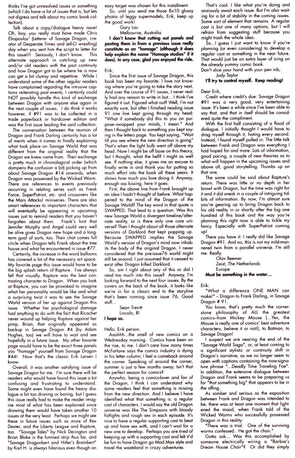 The Savage Dragon (1993) Issue #93 #96 - English 26