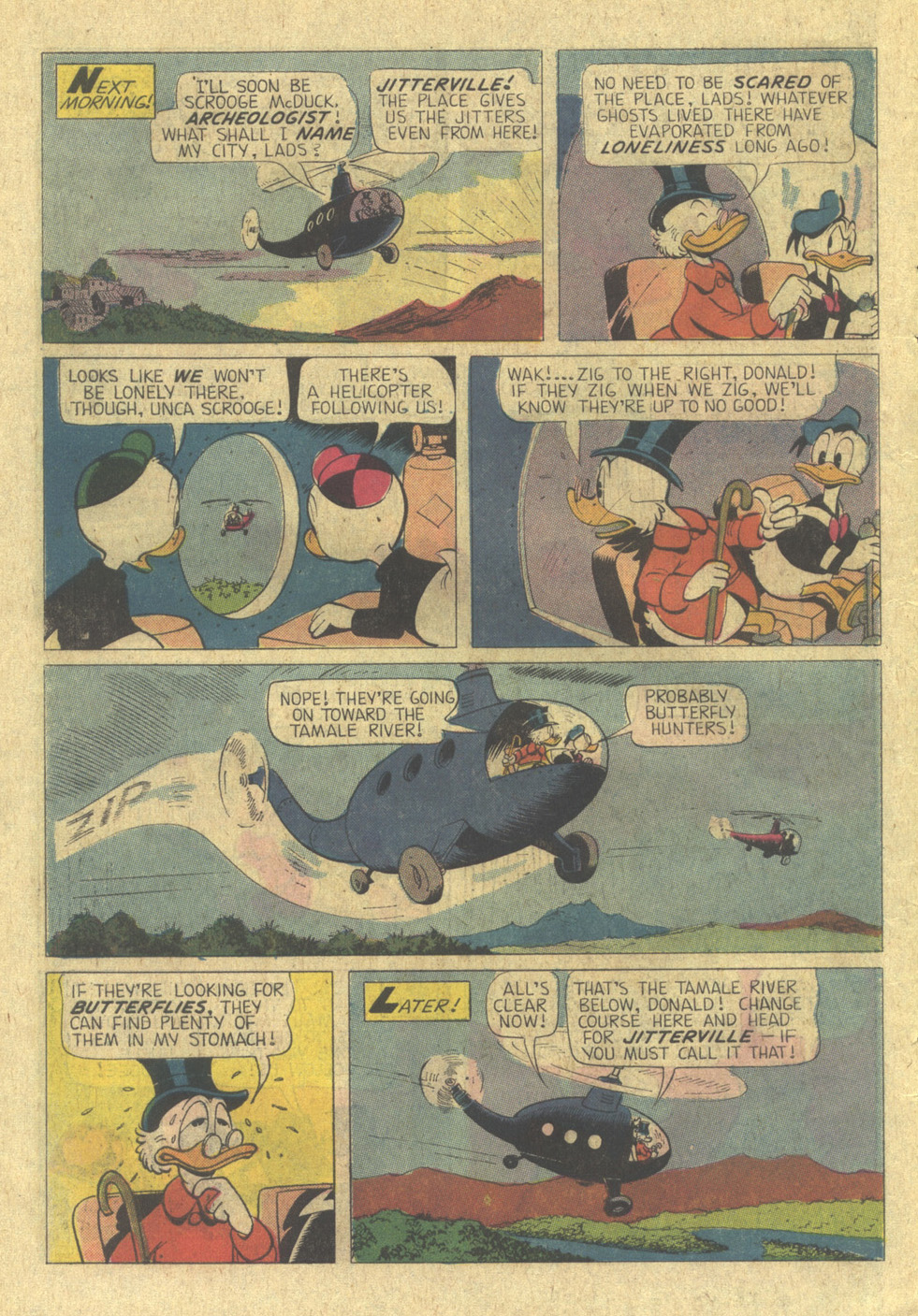 Read online Uncle Scrooge (1953) comic -  Issue #113 - 10