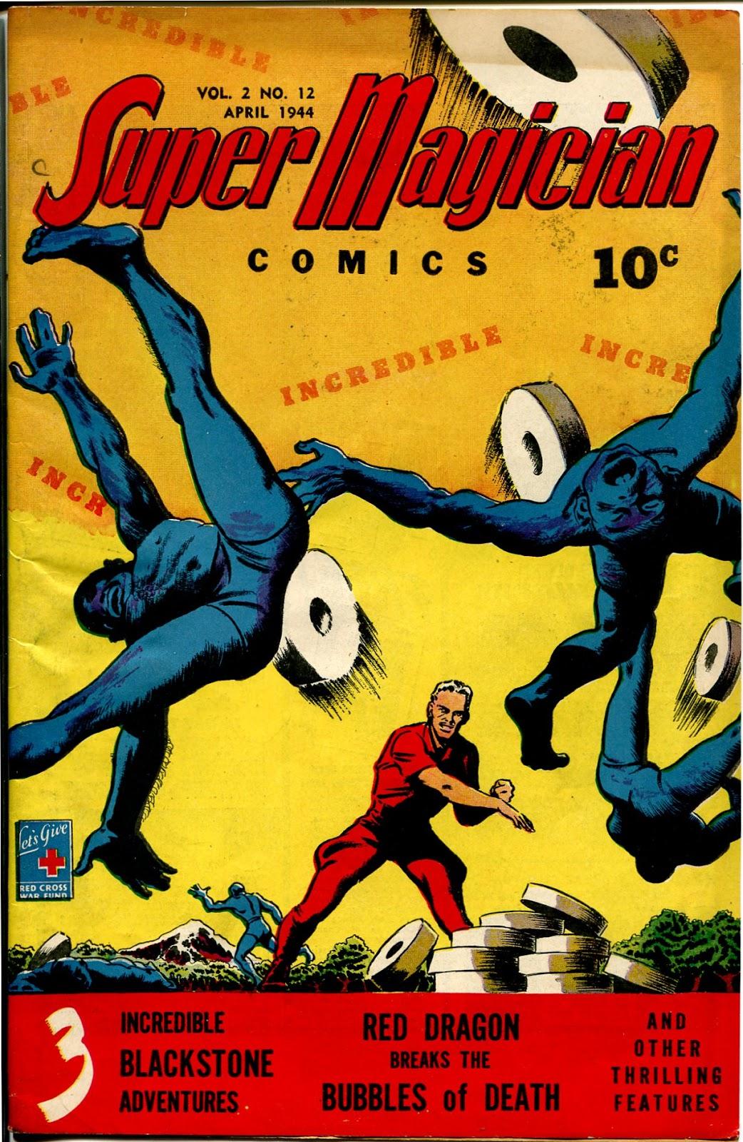 Super-Magician Comics issue 24 - Page 1
