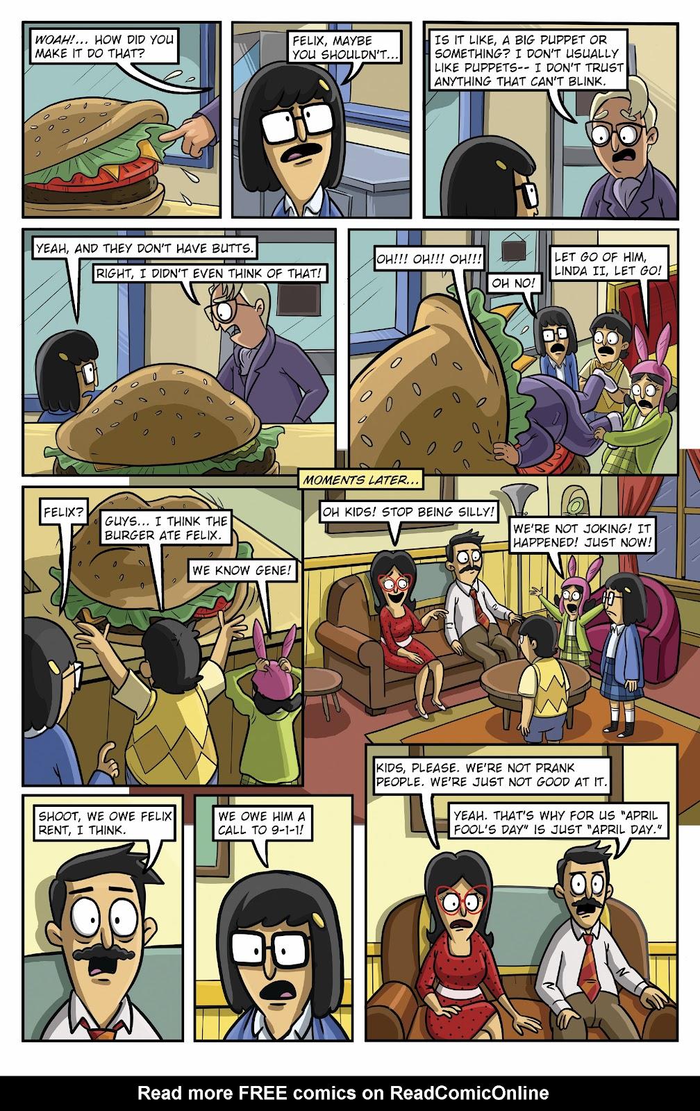 Bob's Burgers (2015) Issue #16 #16 - English 15