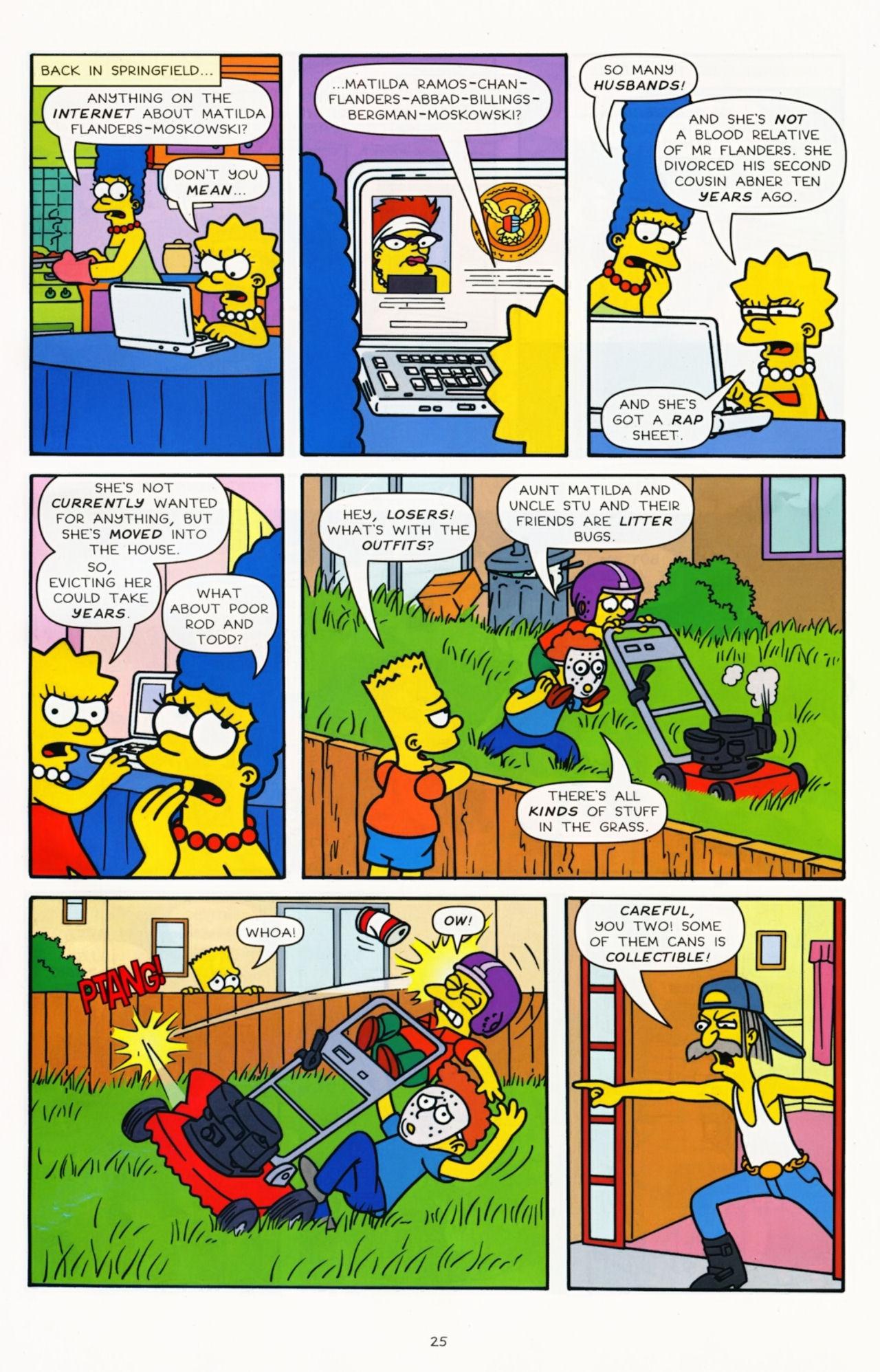 Read online Simpsons Comics comic -  Issue #181 - 20