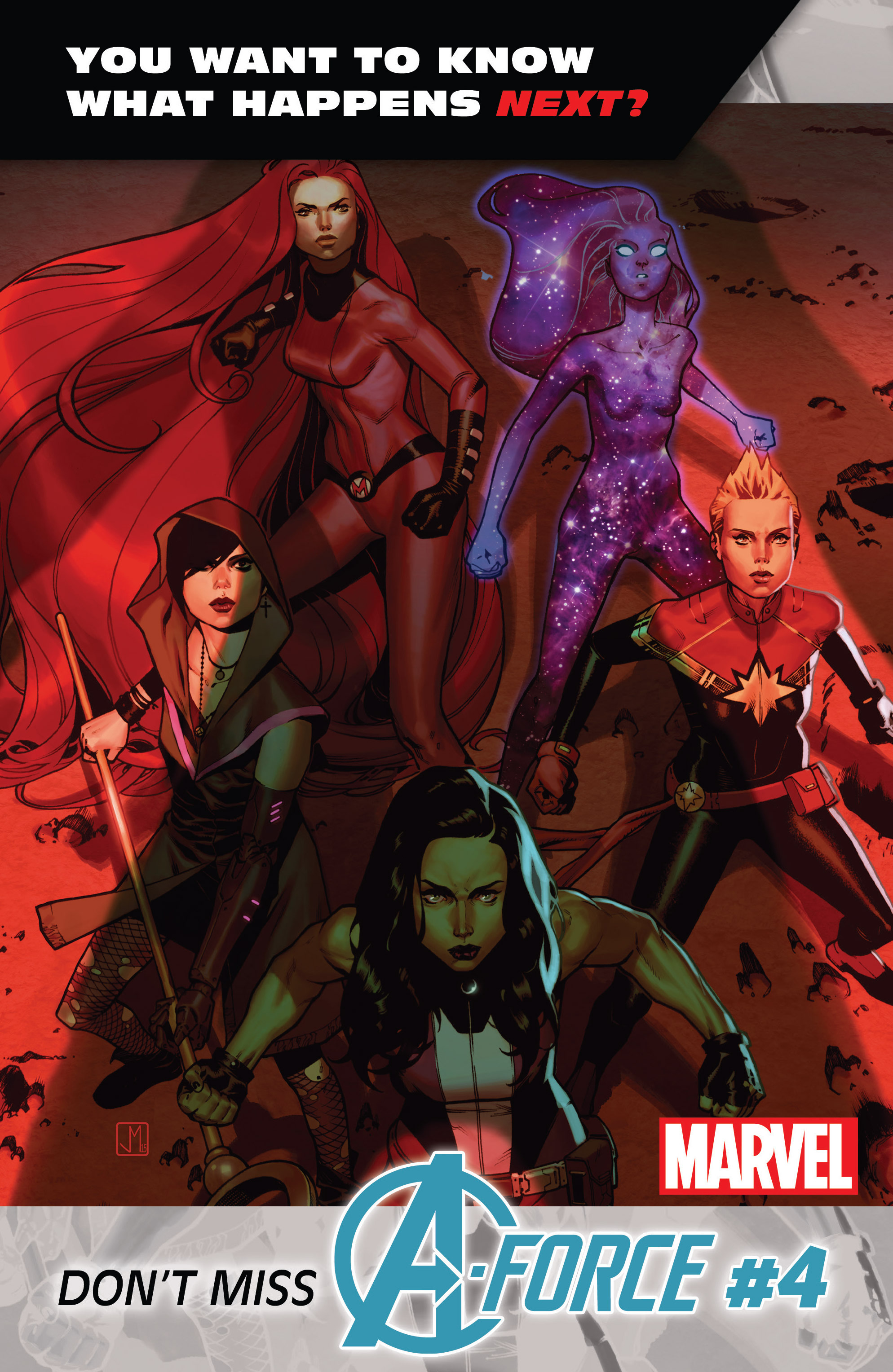 Read online A-Force (2016) comic -  Issue #3 - 23
