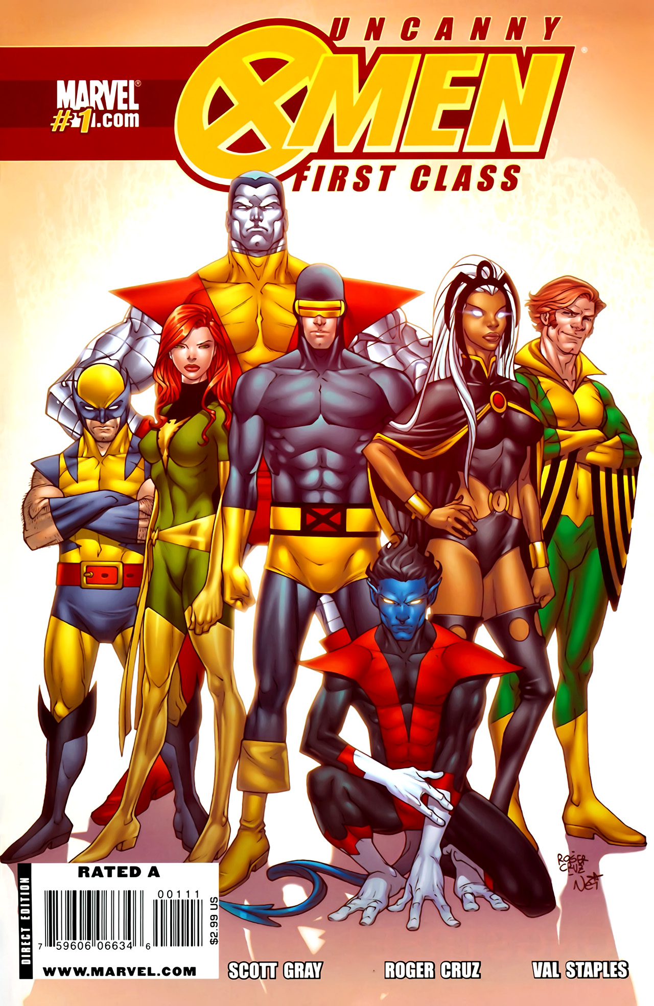 Read online Uncanny X-Men: First Class comic -  Issue #1 - 1