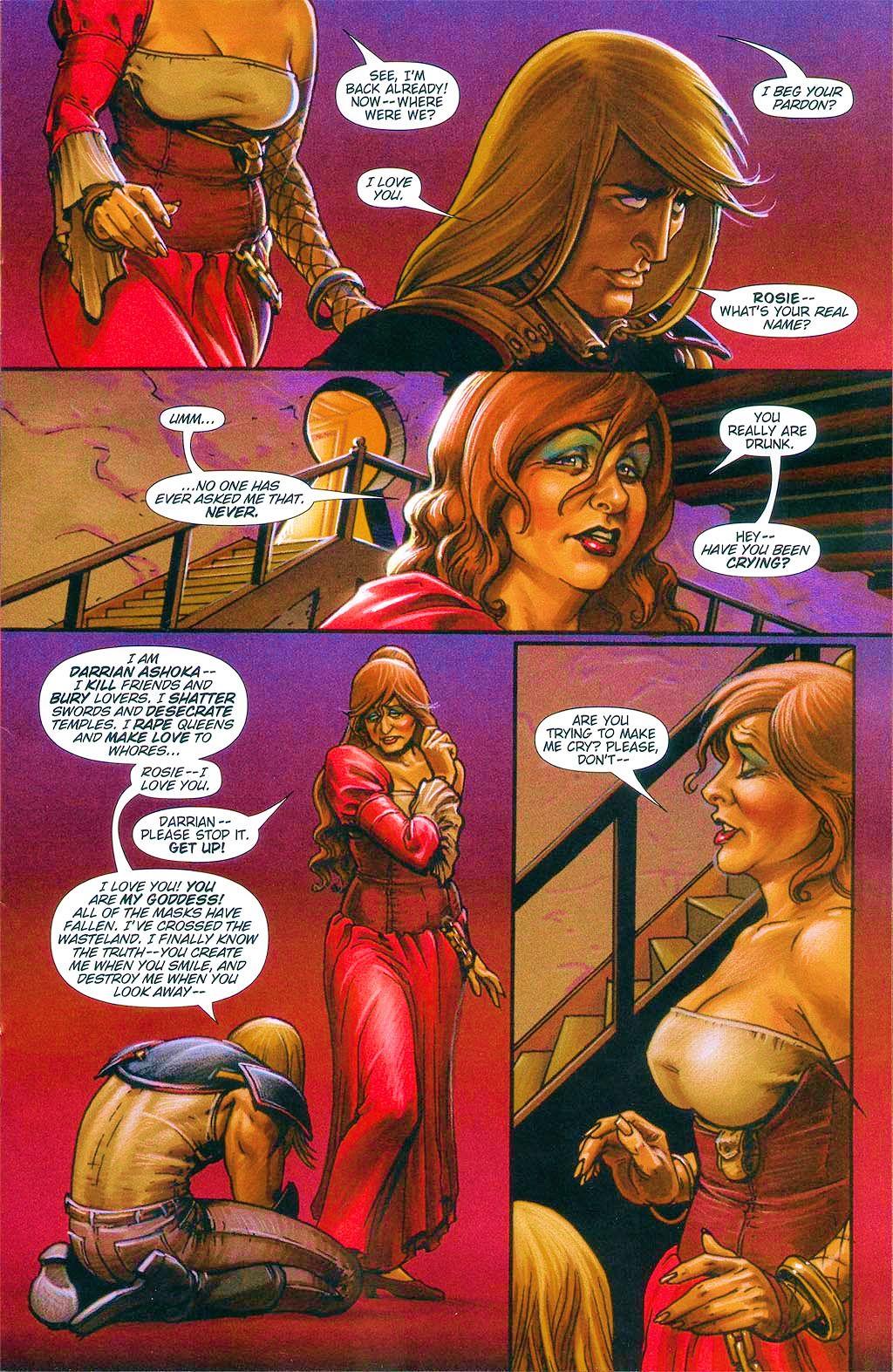 Read online Dawn: Three Tiers comic -  Issue #6 - 11