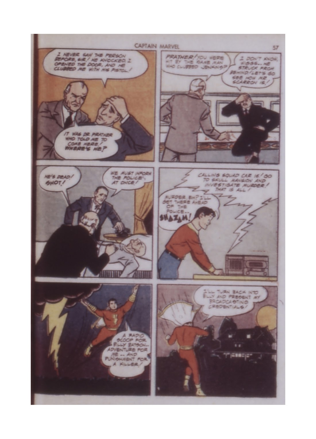 Captain Marvel Adventures issue 14 - Page 57