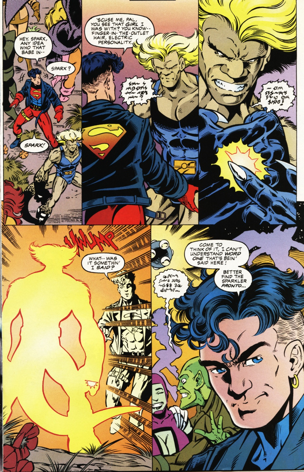 Read online Superboy & The Ravers comic -  Issue #1 - 6