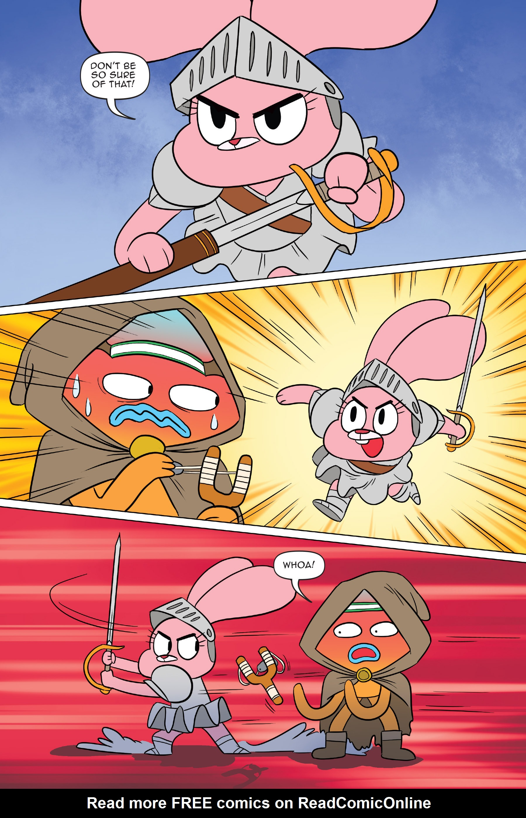 Read online The Amazing World of Gumball: Fairy Tale Trouble comic -  Issue # Full - 57