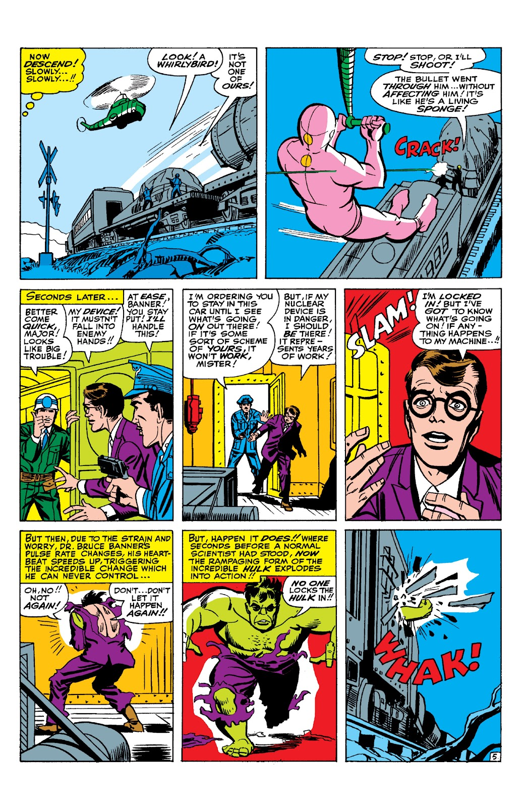 Read online Marvel Masterworks: The Incredible Hulk comic -  Issue # TPB 2 (Part 1) - 62