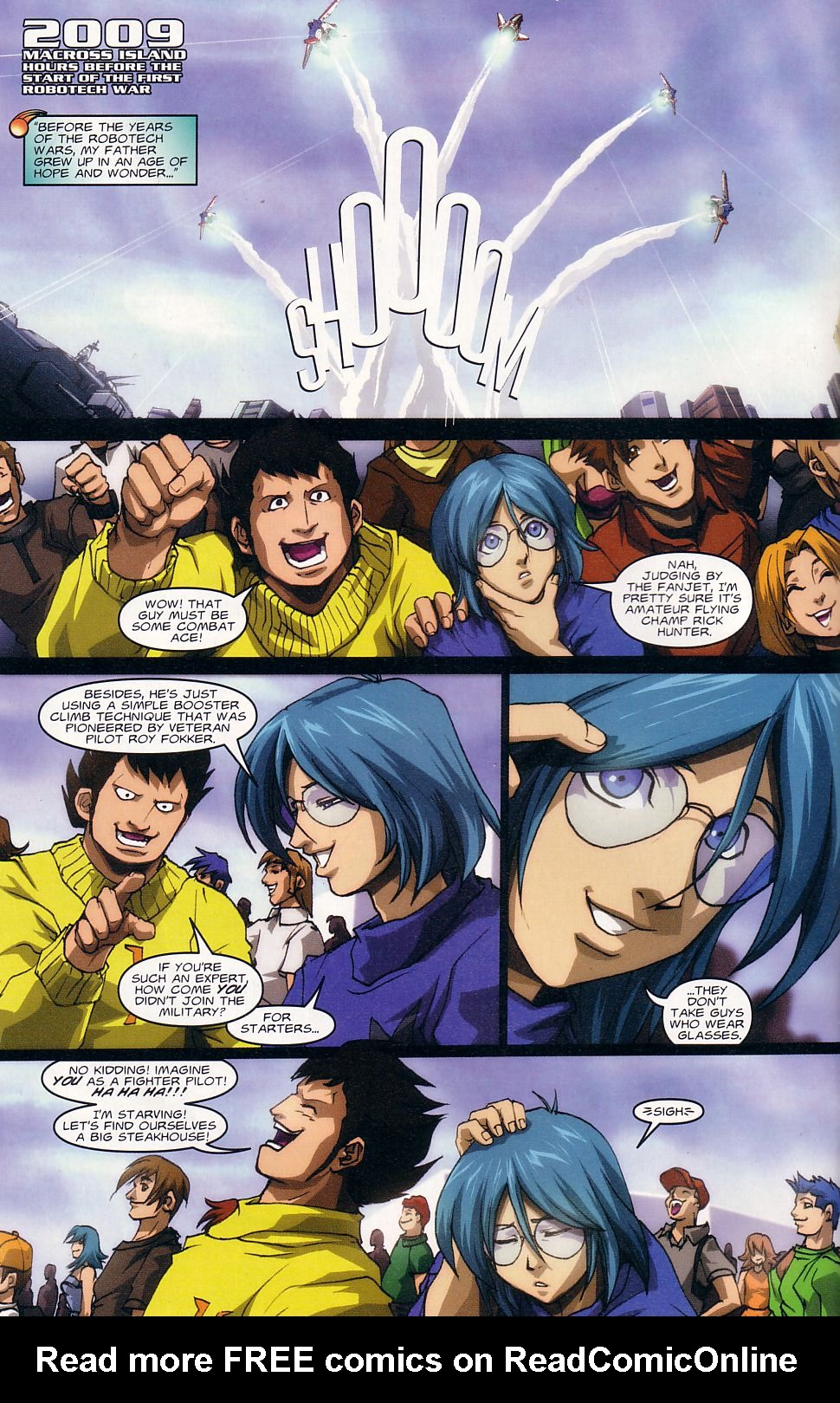 Read online Robotech: Love and War comic -  Issue #1 - 5
