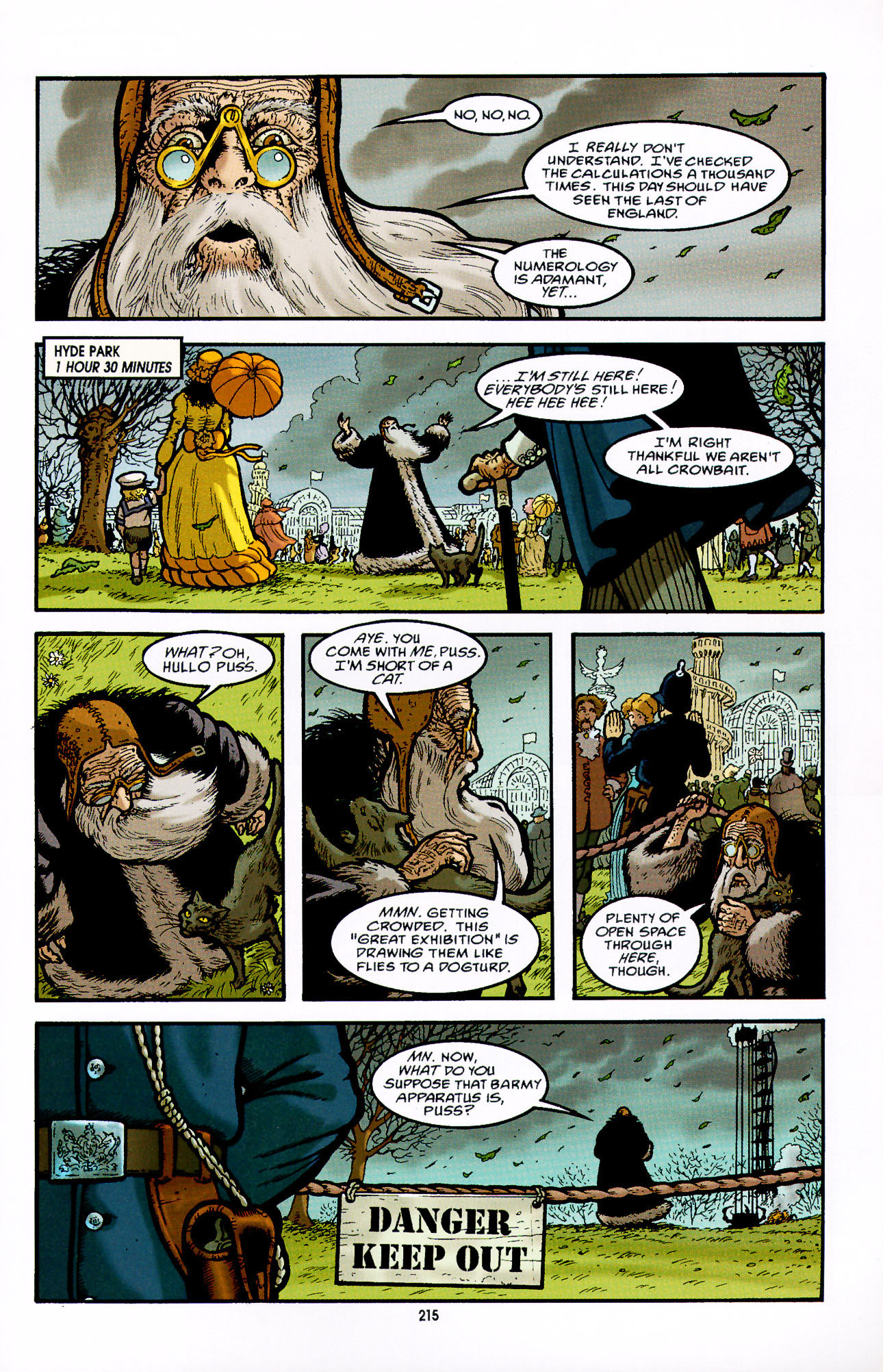 Read online Heart of Empire comic -  Issue #7 - 21