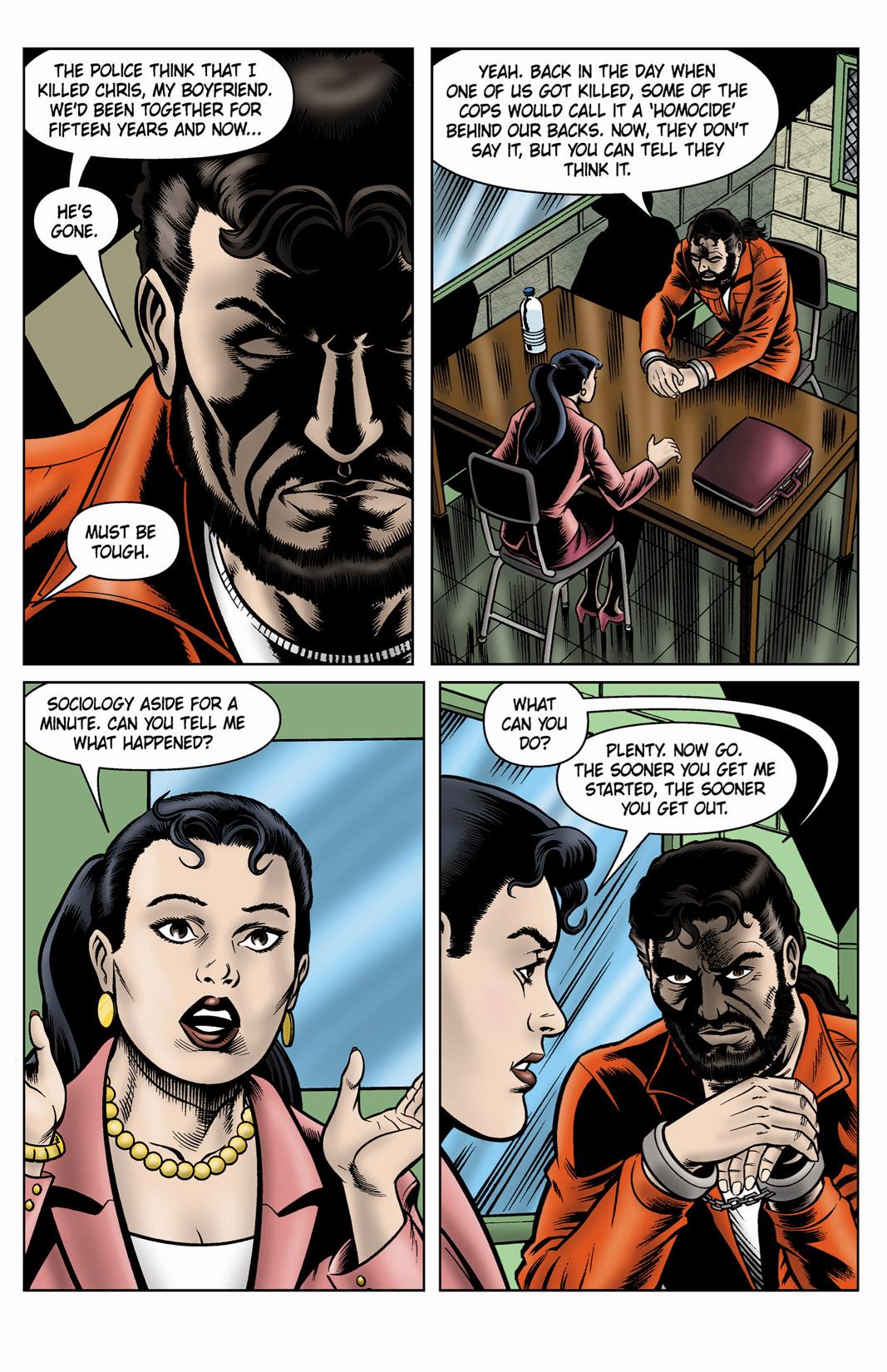 Read online SideChicks comic -  Issue #4 - 13