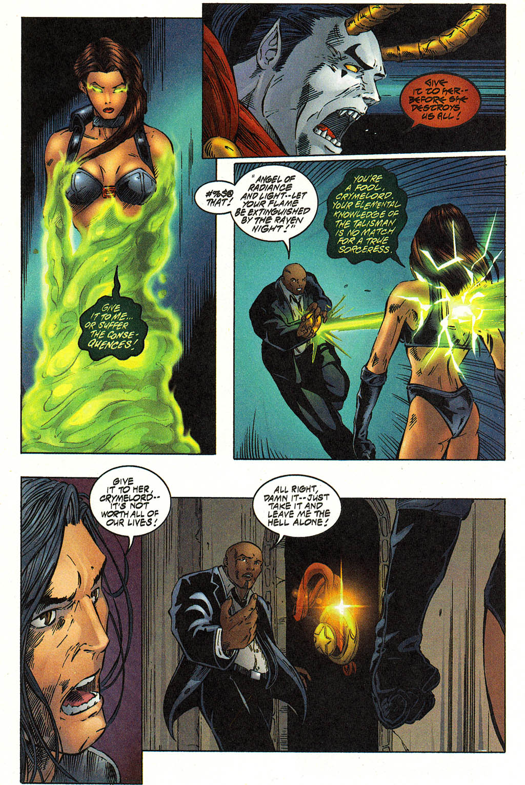 Read online Avengelyne (1996) comic -  Issue #12 - 17
