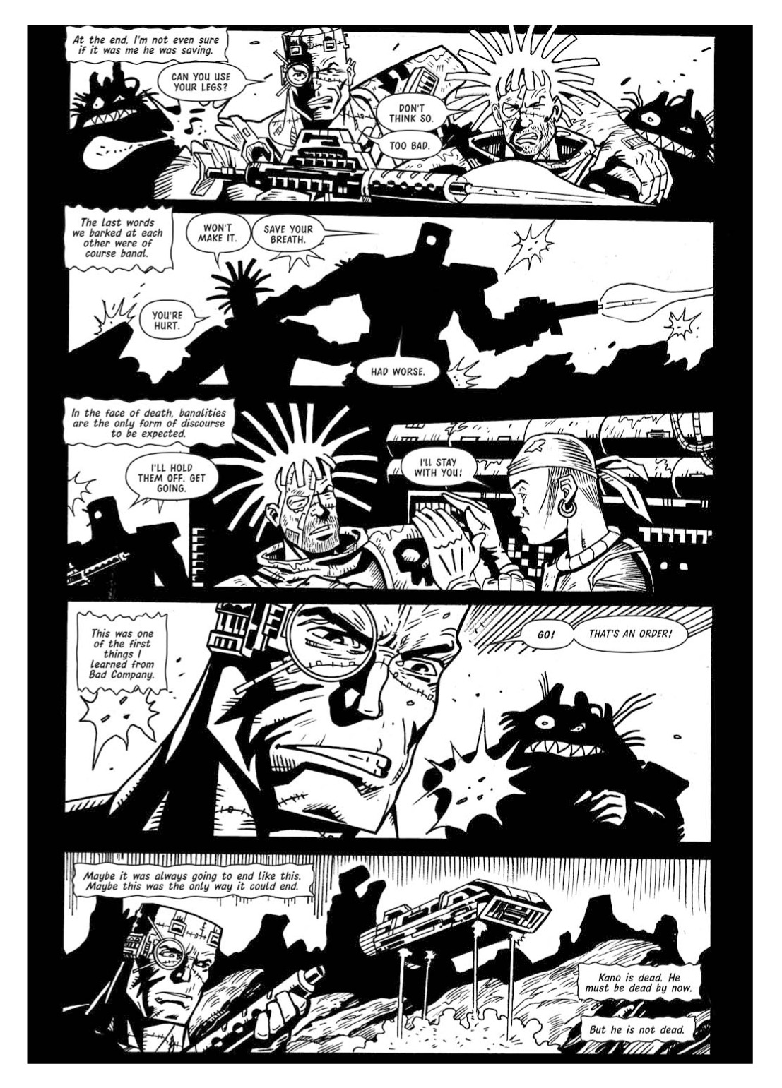 Read online The Complete Bad Company comic -  Issue # TPB - 359