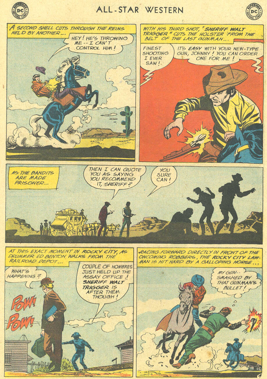 Read online All-Star Western (1951) comic -  Issue #113 - 28