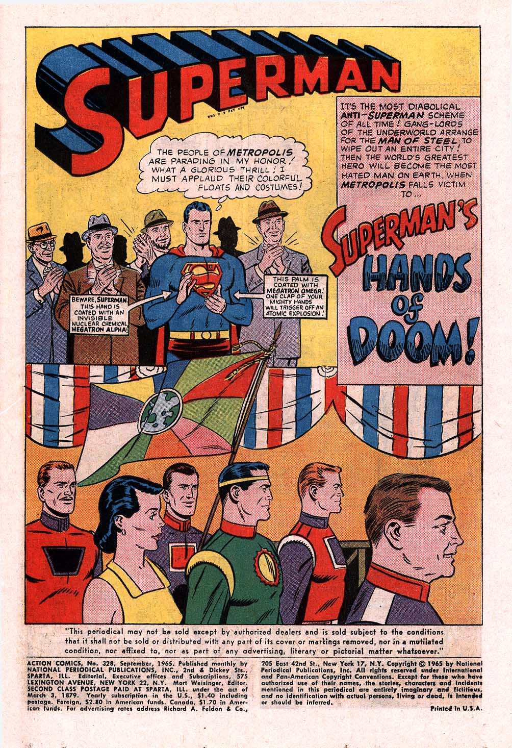 Read online Action Comics (1938) comic -  Issue #328 - 2