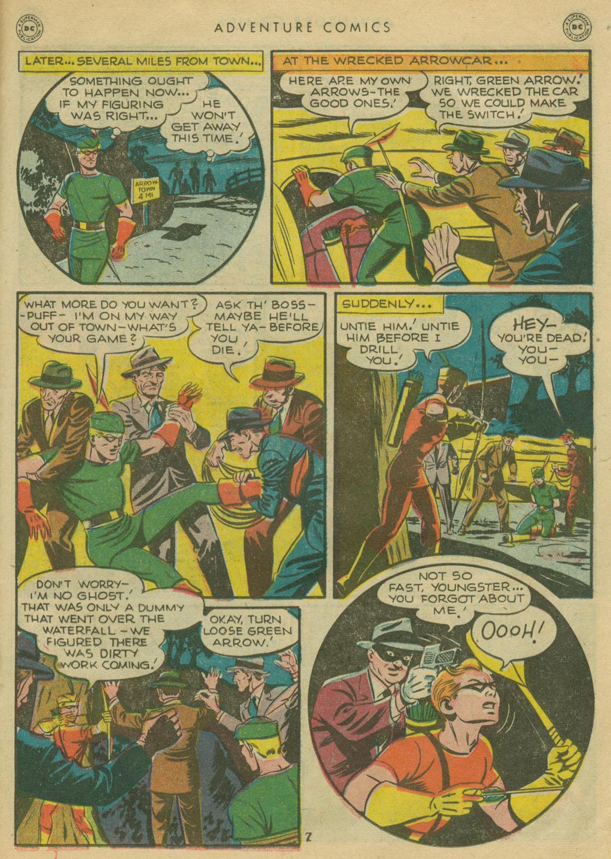 Read online Adventure Comics (1938) comic -  Issue #130 - 30
