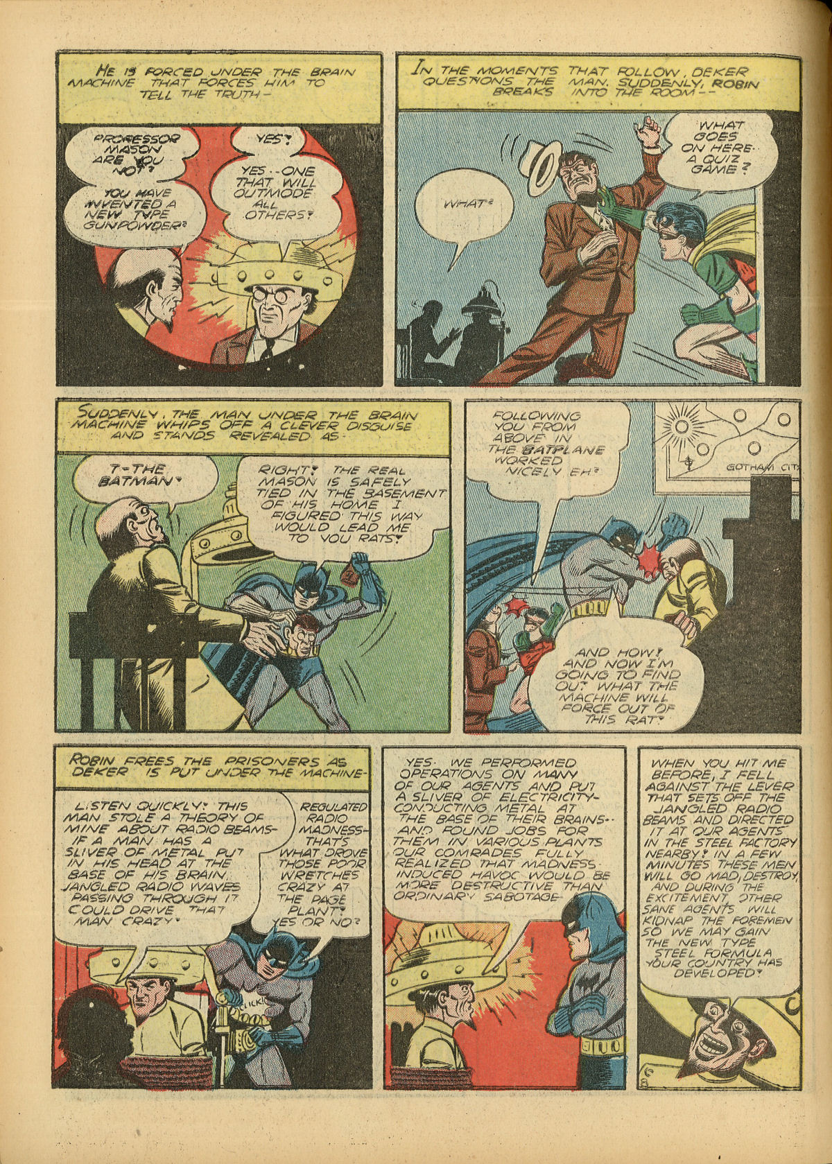 Read online Detective Comics (1937) comic -  Issue #55 - 10