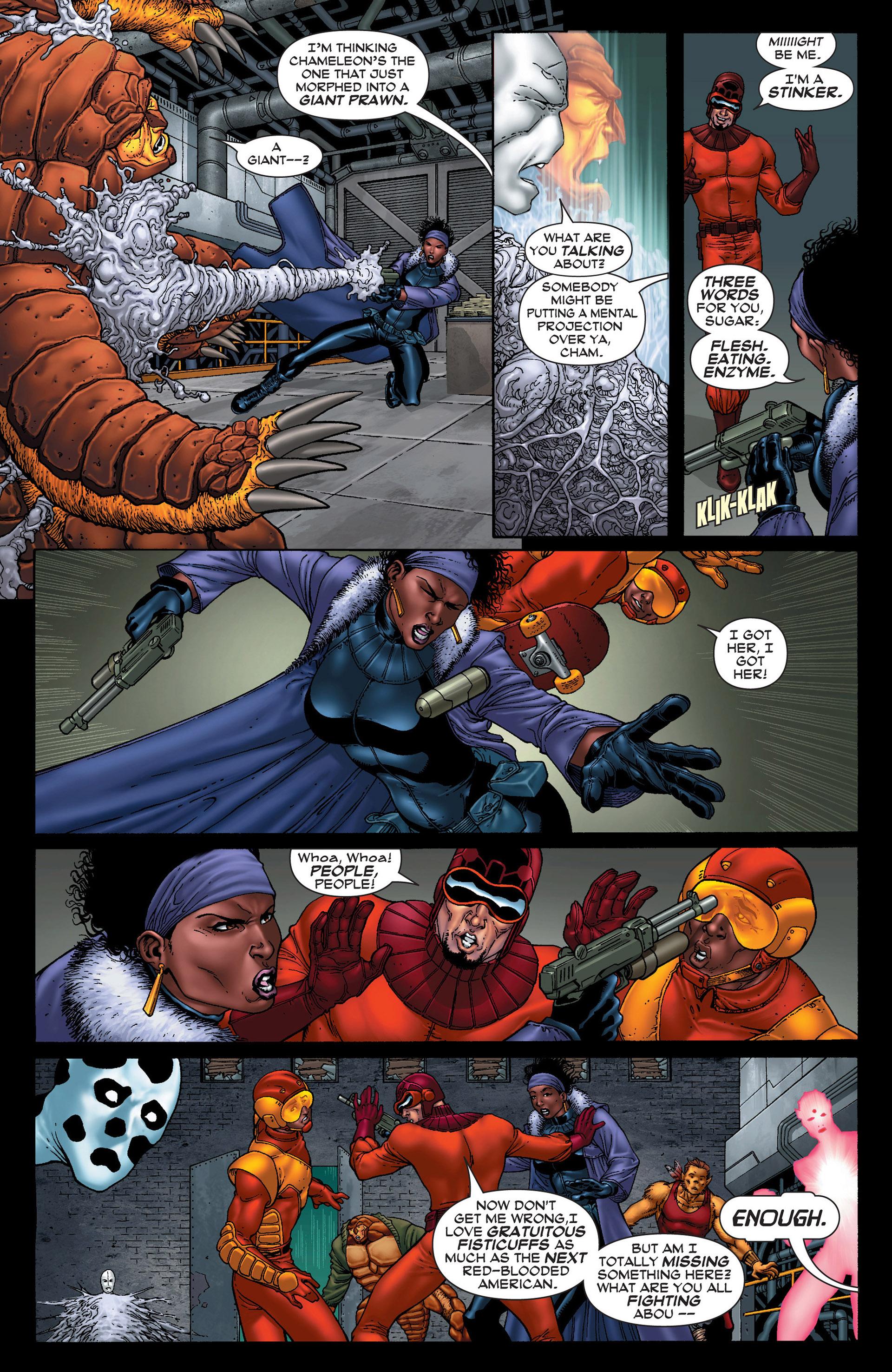 Read online Super-Villain Team-Up/MODOK's 11 comic -  Issue #1 - 20