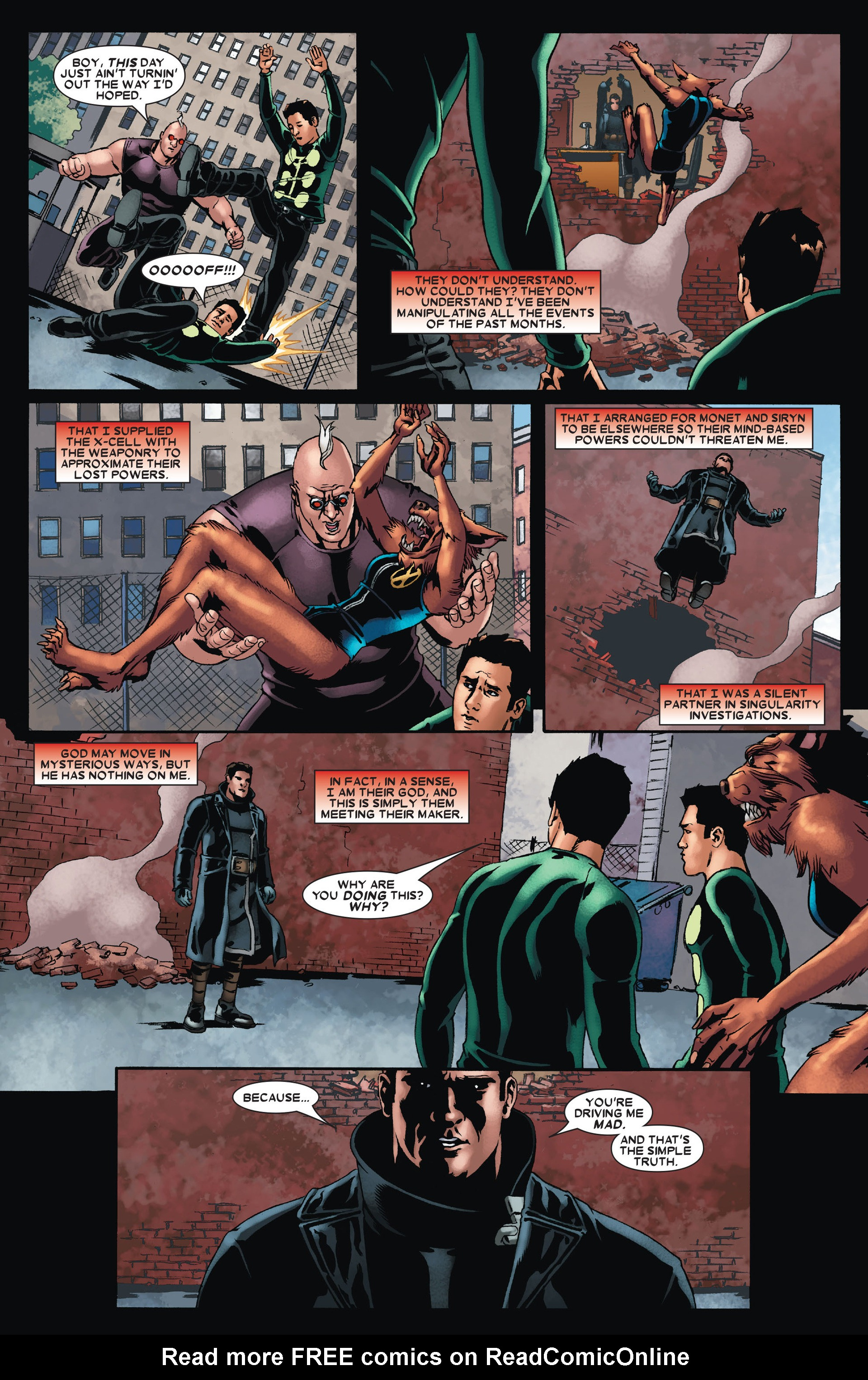 Read online X-Factor (2006) comic -  Issue #23 - 22